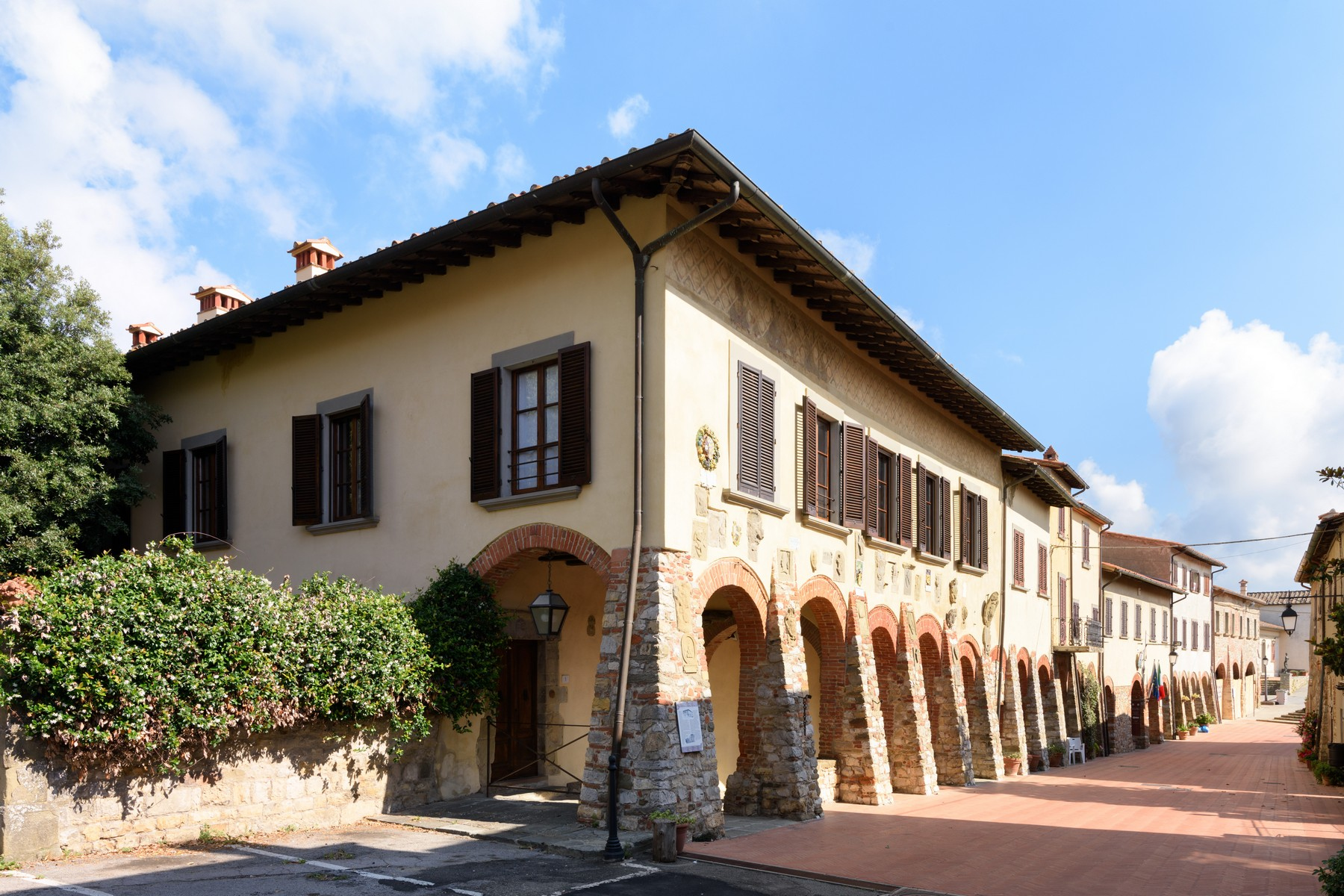 Other Residential Homes for Sale at Historical palace of the 10th century in the heart of the Val di Chiana Civitella in Val di Chiana, Arezzo Italy