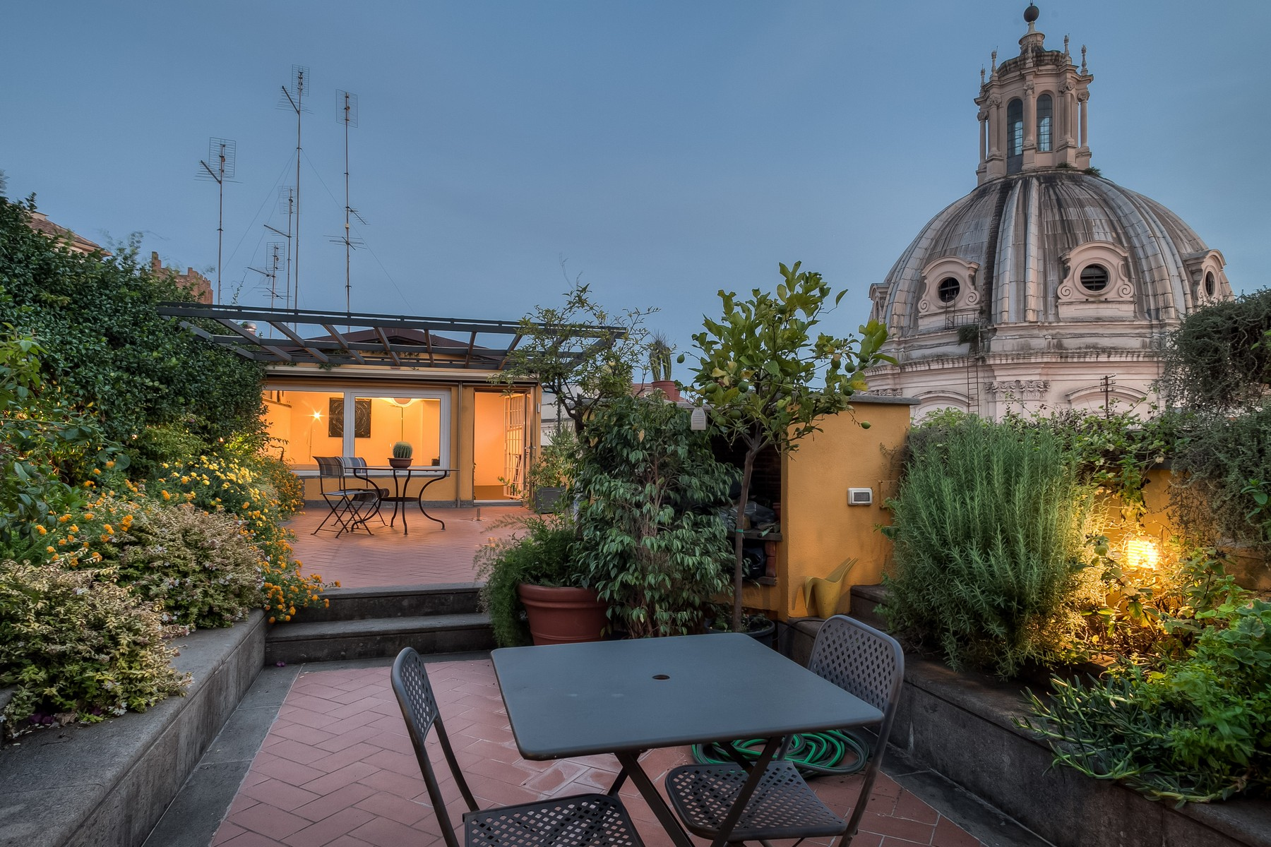 Apartment for Sale at Panoramic penthouse with a view Rome, Rome Italy