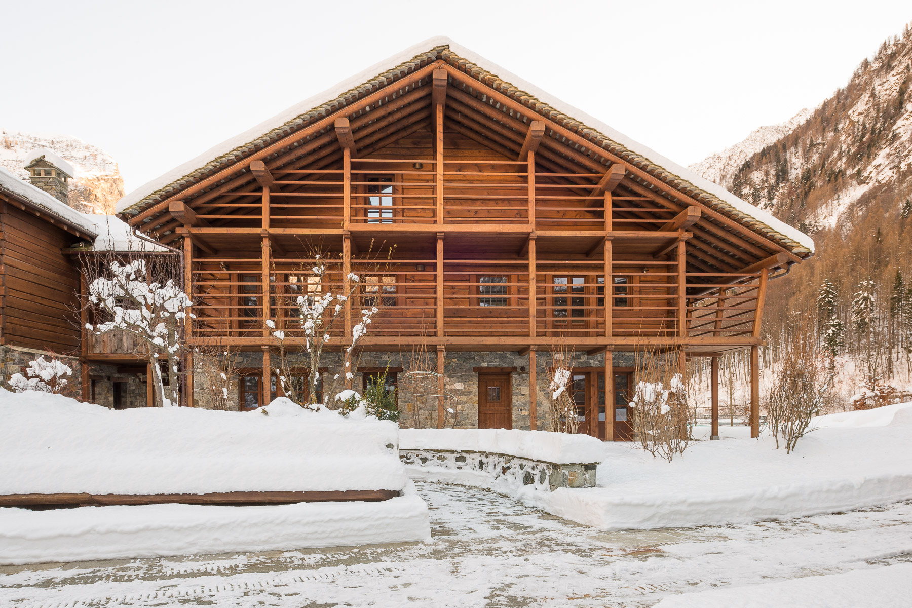 Other Residential for Sale at High-tech magnificent chalet at the bottom of Monte Rosa Other Vercelli, Vercelli, Italy