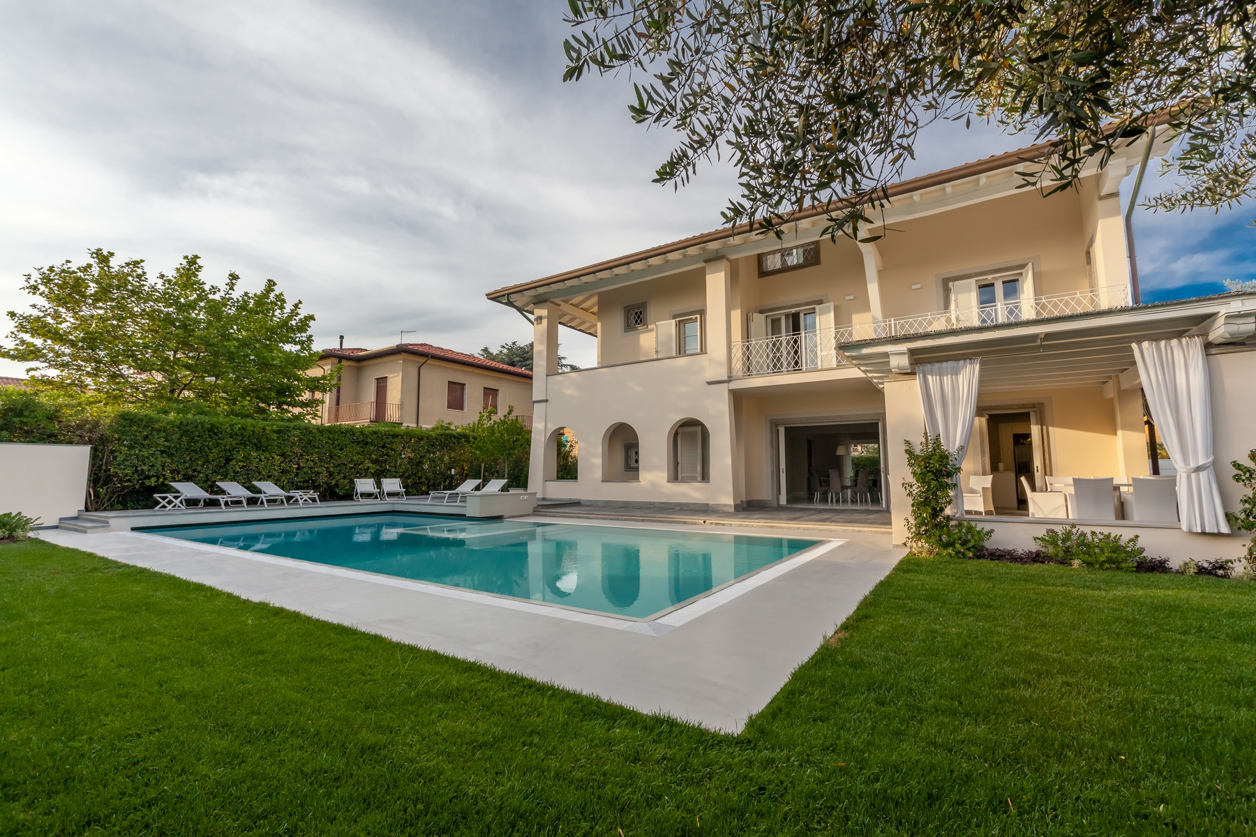 Other Residential Homes for Sale at Splendid villa with swimming pool in Forte dei Marmi Forte Dei Marmi, Lucca Italy