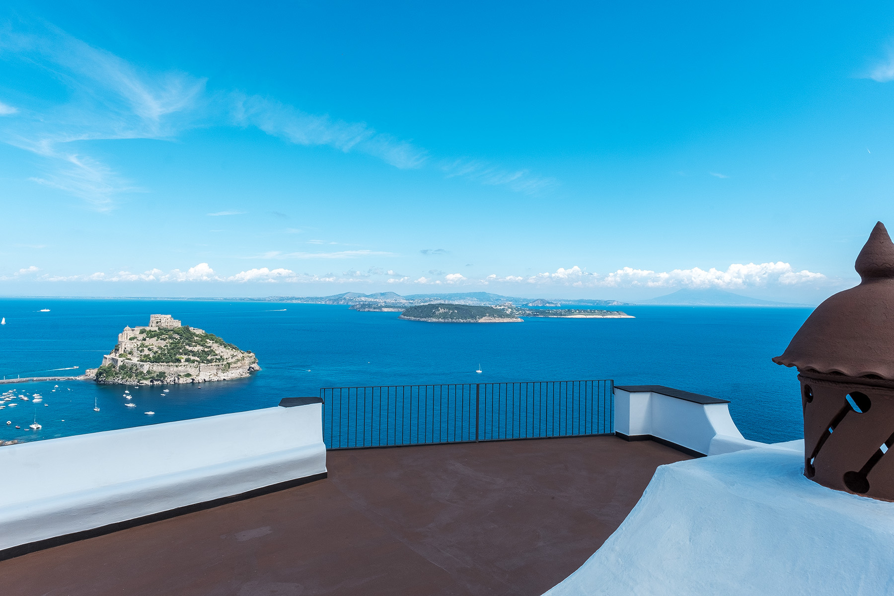 Other Residential Homes for Sale at Enchanting villa with the view Ischia, Naples Italy