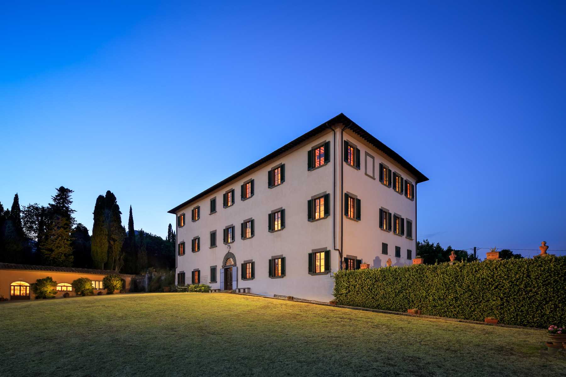 Other Residential Homes for Sale at 17th century magnificent villa with private park Pescia, Pistoia Italy