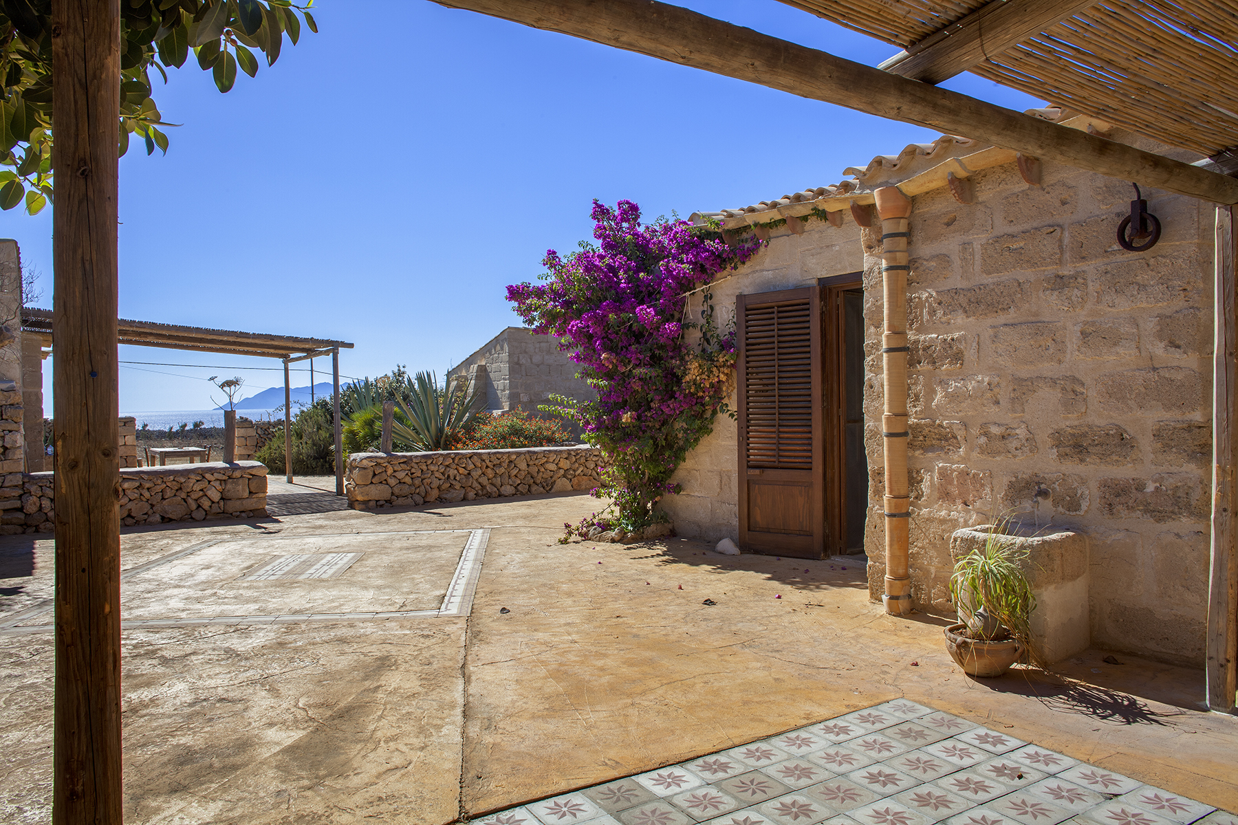 Other Residential for Sale at Hamlet with stunning sea views in Favignana Favignana, Trapani, Italy