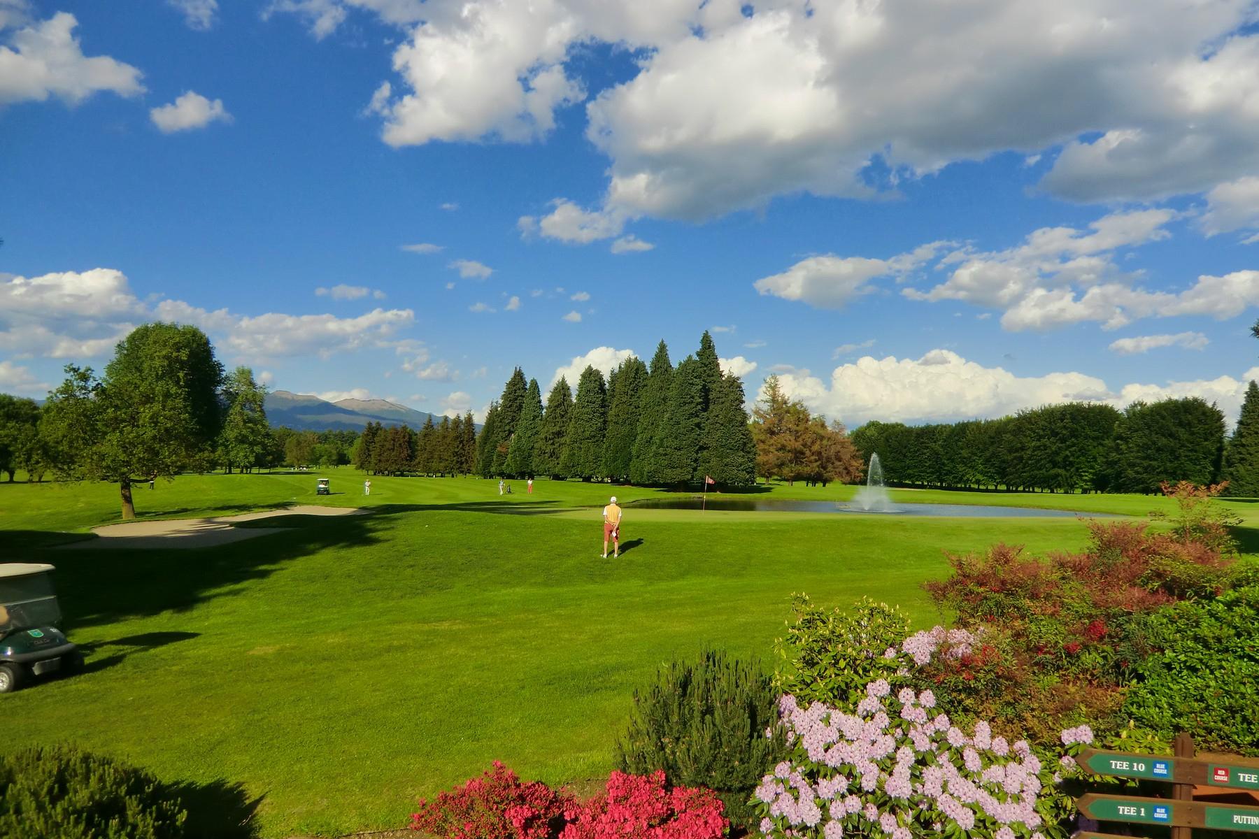 Apartments for Sale at Apartment in the prestigious 'Golf Club Monticello' Cassina Rizzardi, Como Italy