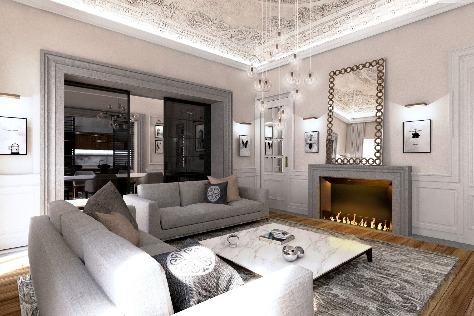 Apartments for Sale at Ognissanti Palace: Extraordinary refined apartment in the city center Firenze, Florence Italy