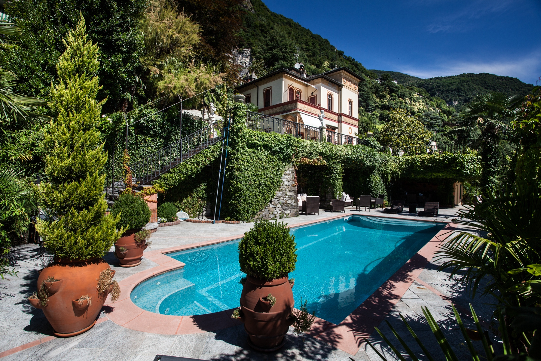 Property for Sale at Charming historic villa with private park Moltrasio, Como Italy