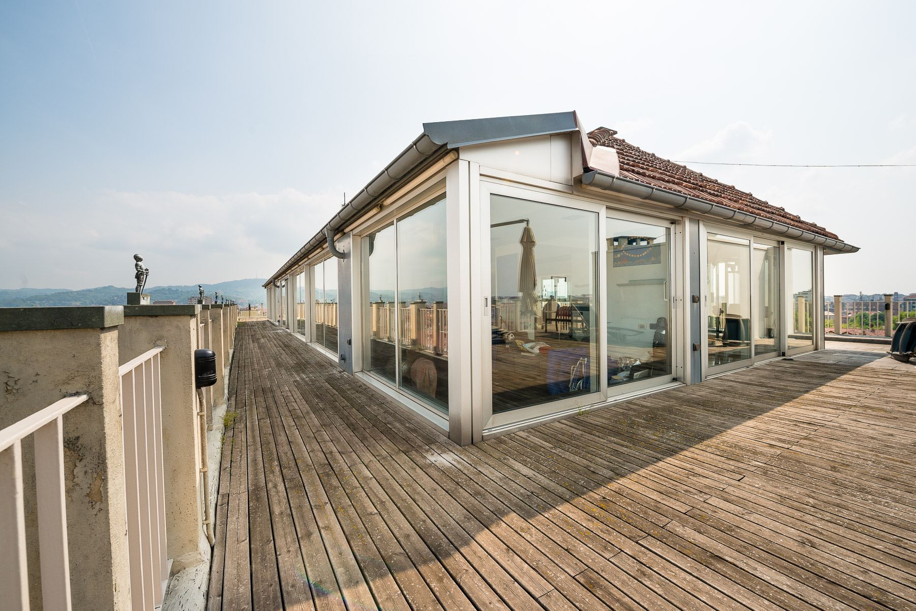 Apartment for Sale at Unique roof-top penthouse downtown Turin Torino, Turin, Italy