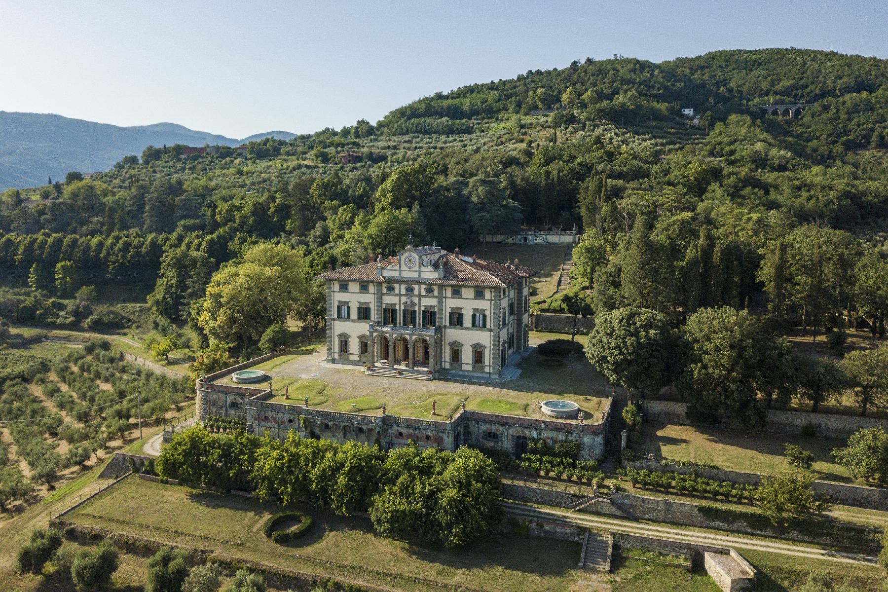 Other Residential Homes for Sale at Majestic neo-classical villa Pistoia, Pistoia Italy
