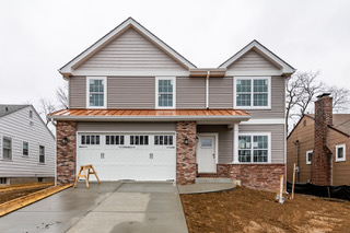 Single Family Homes for Sale at New 2-Story in Ladue Schools 1132 Hilltop Drive Olivette, Missouri 63132 United States