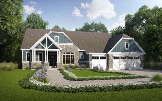 Single Family Homes for Sale at The Bluffs at Lily Avenue, fine homes in Kirkwood 2021 Lily Avenue Kirkwood, Missouri 63122 United States