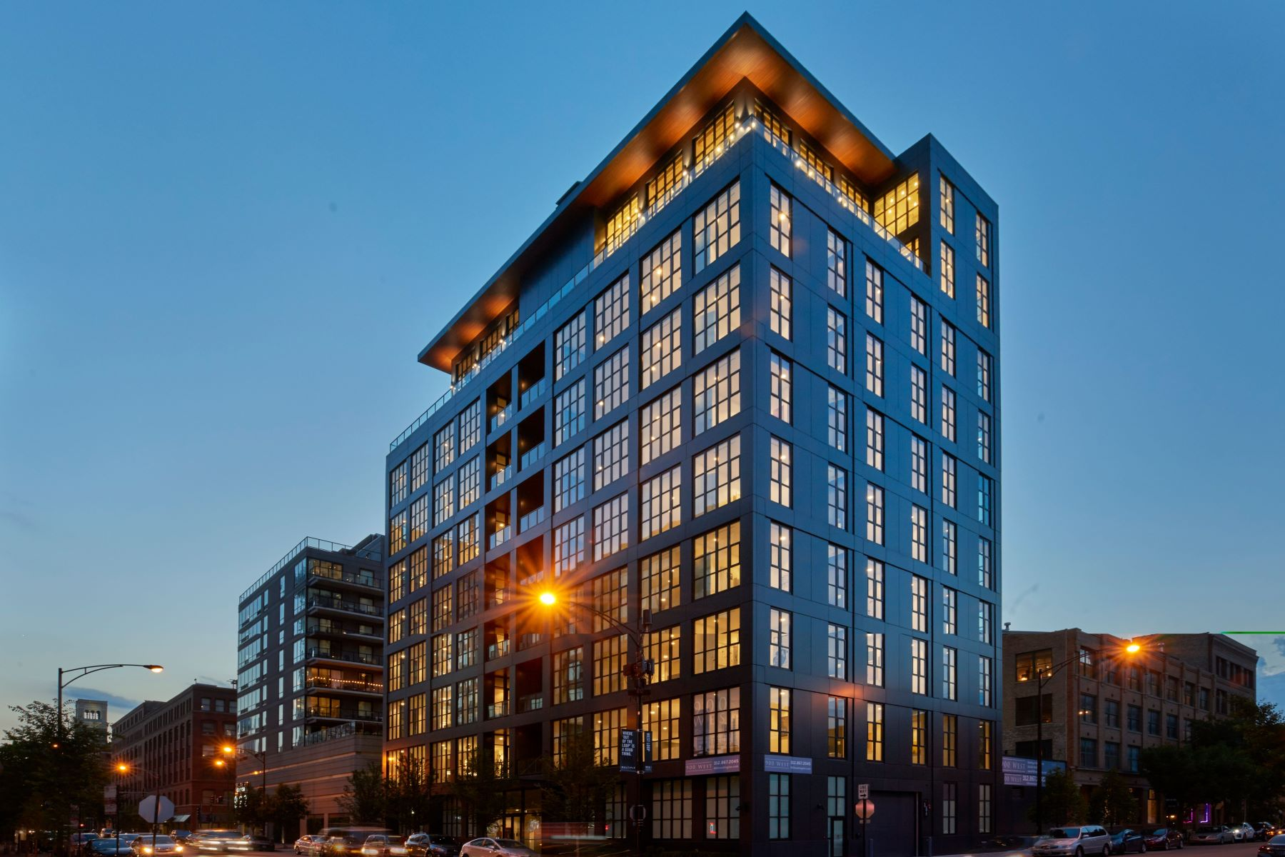 Condominiums por un Venta en 900 West 900 W Washington Boulevard Unit PH-901 Chicago, Illinois 60607 Estados Unidos