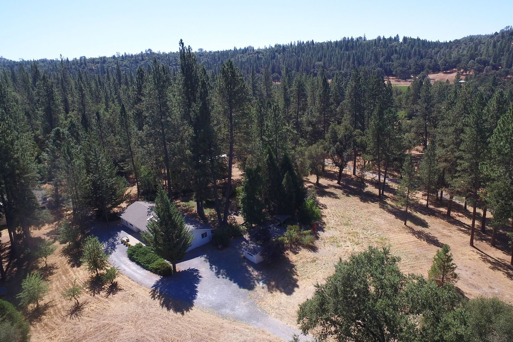 Single Family Homes for Sale at Fabulous 11+ acre Ranch Located in Somerset 3181 Corral Trail Road Somerset, California 95684 United States