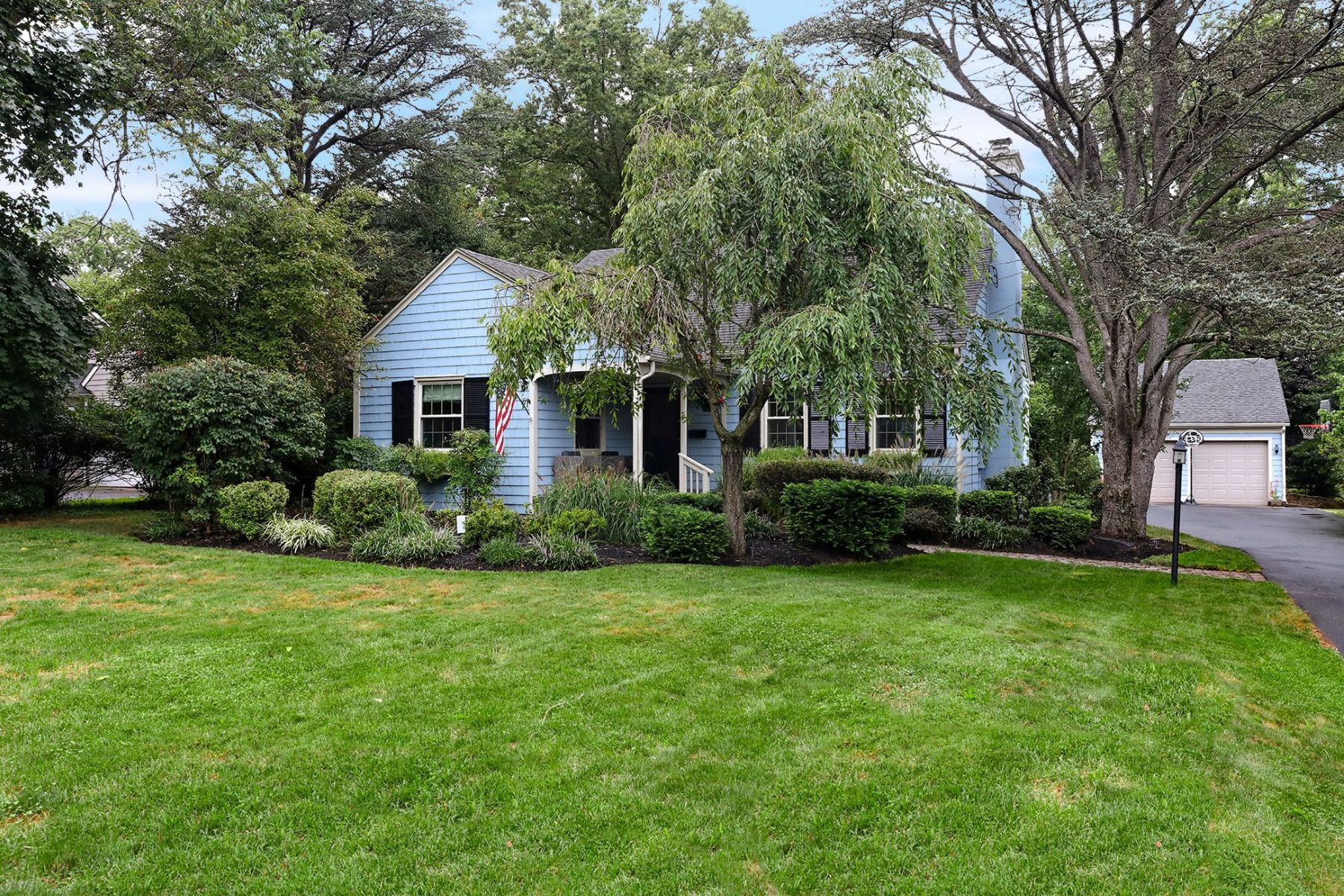 Single Family Homes for Sale at Absolutely Delightful Expanded Cape 11 Maple Lane, Pennington, New Jersey 08534 United States