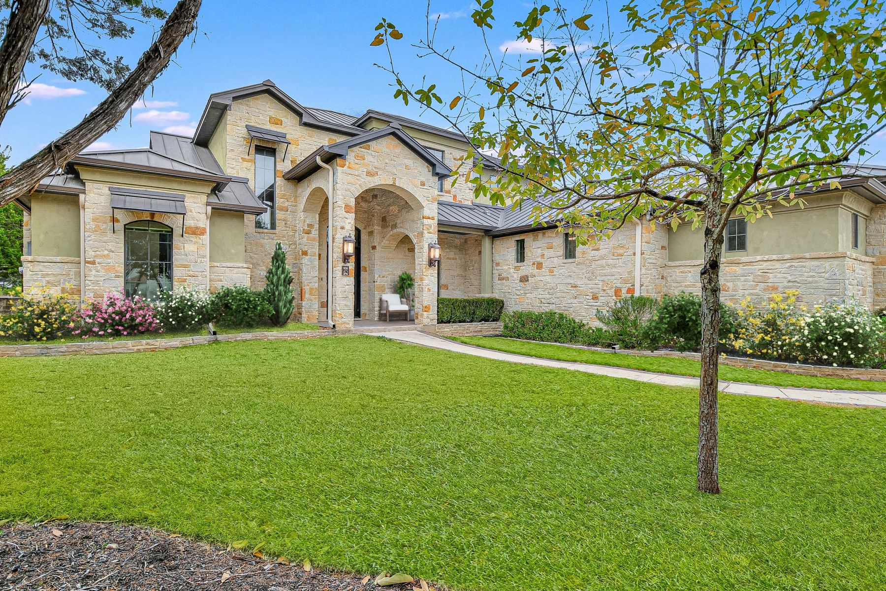 Single Family Homes for Sale at Prestigious Newcombe Tennis Ranch Home 806 Uluru Avenue New Braunfels, Texas 78132 United States