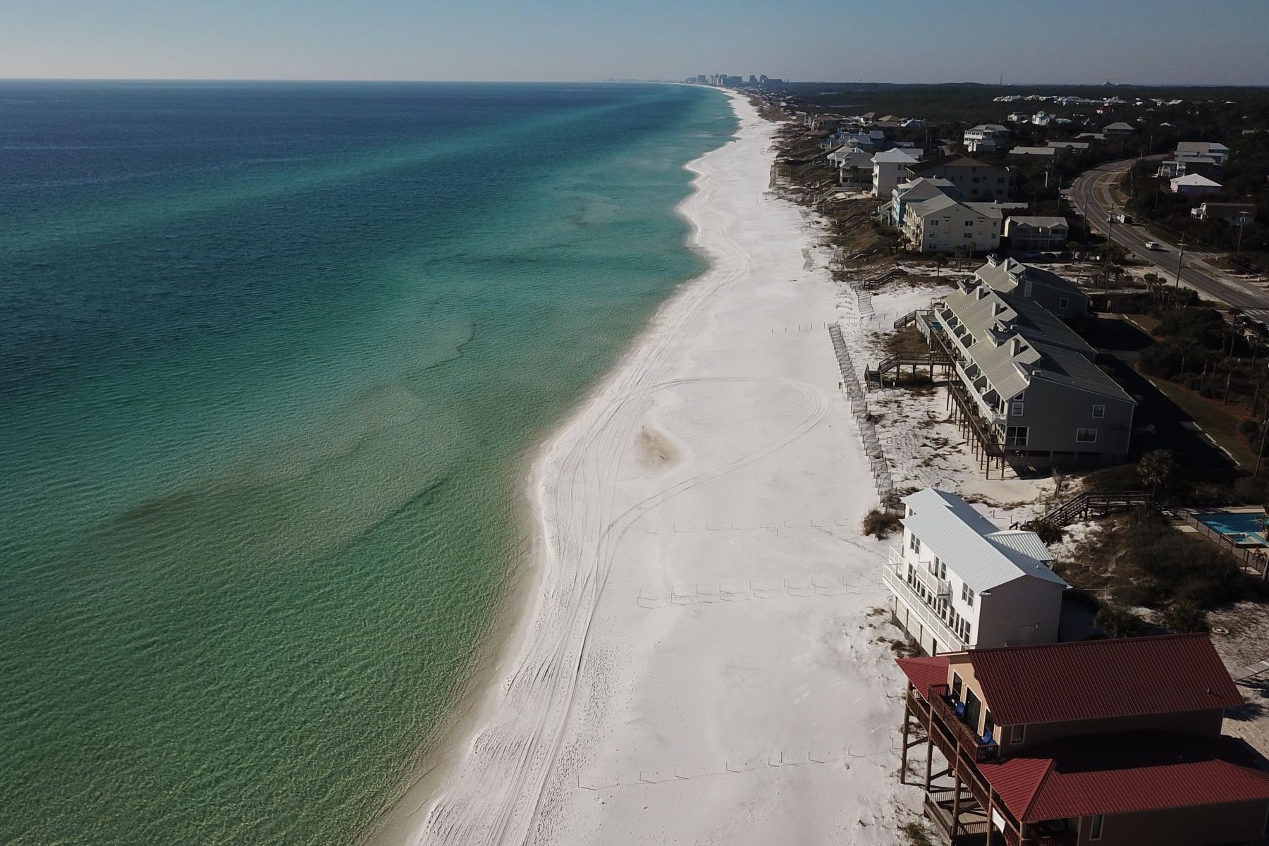 Land for Active at Dune Allen Beach Parcel with 131 Feet of Water Frontage 113 Fort Panic Road Santa Rosa Beach, Florida 32459 United States