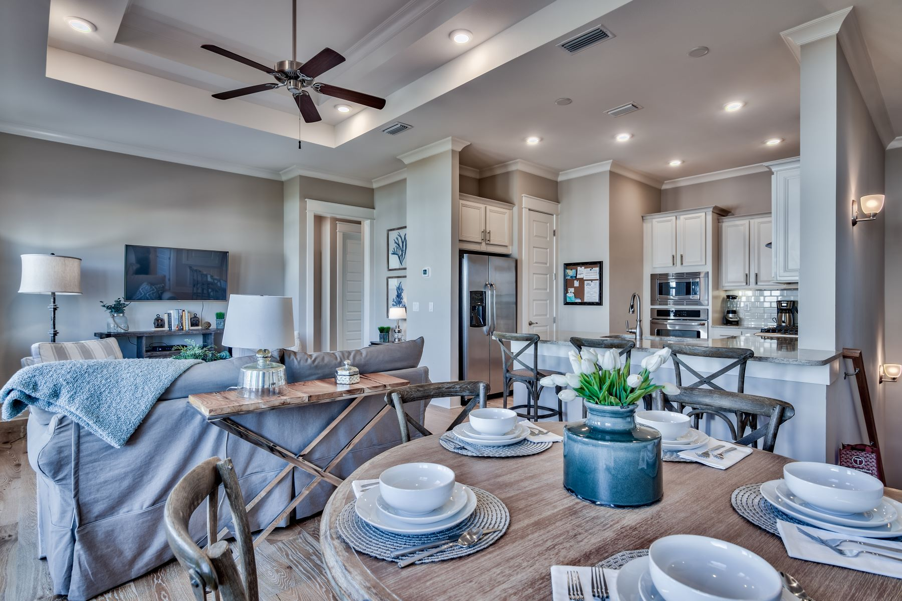 for Sale at Sophisticated Beach Styled Condo Fully Furnished in Prominence 34 Pine Lands Loop C Inlet Beach, Florida 32461 United States