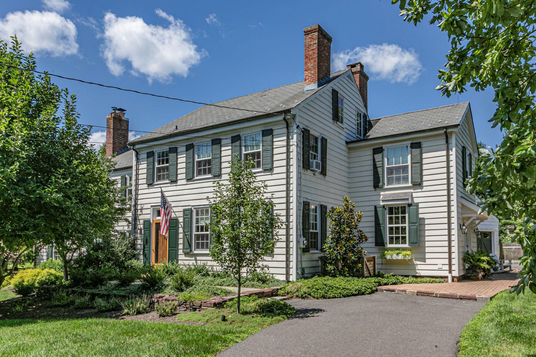 Single Family Homes por un Venta en Blackwell Farmhouse: An Absolute Splendor With Pool, Carriage House 93 Elm Ridge Road, Princeton, Nueva Jersey 08540 Estados Unidos