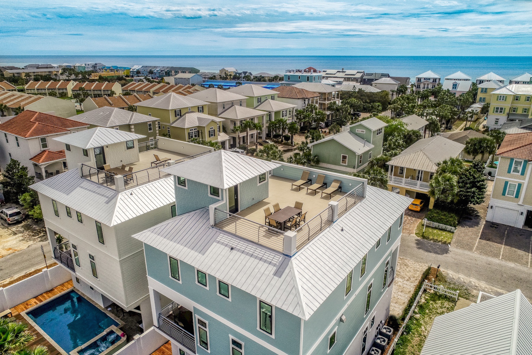 Single Family Homes für Verkauf beim Eight Bedroom Home Newly Constructed in Miramar 20 Sarasota Street, Miramar Beach, Florida 32550 Vereinigte Staaten