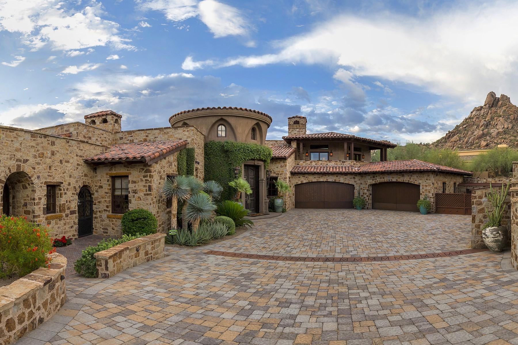 Single Family Homes 용 매매 에 Estancia 10199 E Cavedale DR 249, Scottsdale, 아리조나 85262 미국
