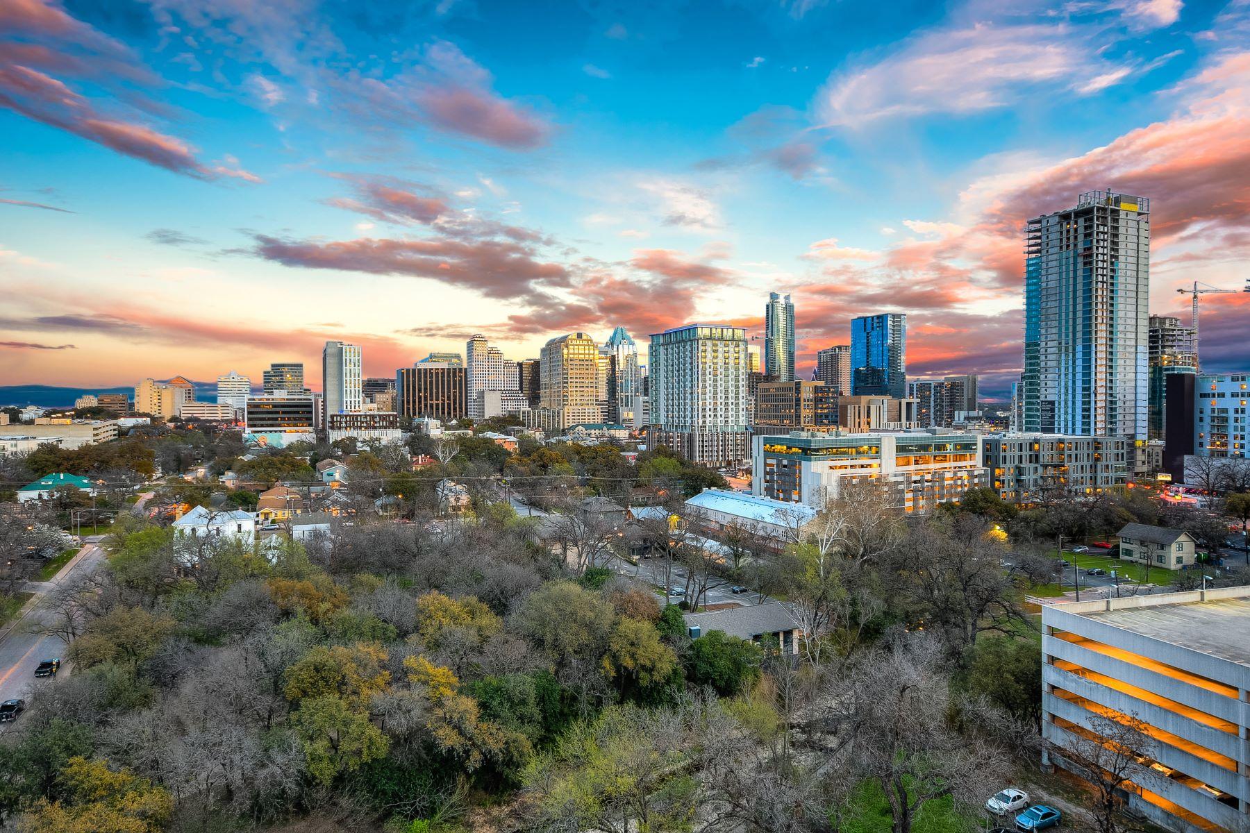 Condominium for Sale at Spectacular Nokonah Penthouse 901 West 9th Street # 1101 Austin, Texas 78703 United States
