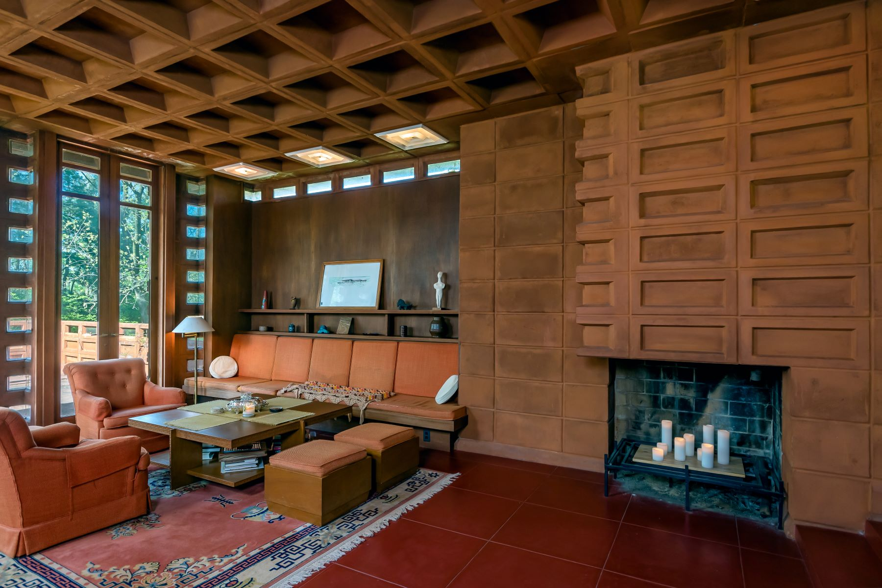 Additional photo for property listing at Frank Lloyd Wright residence 865 Masonridge Road Town And Country, Missouri 63141 United States