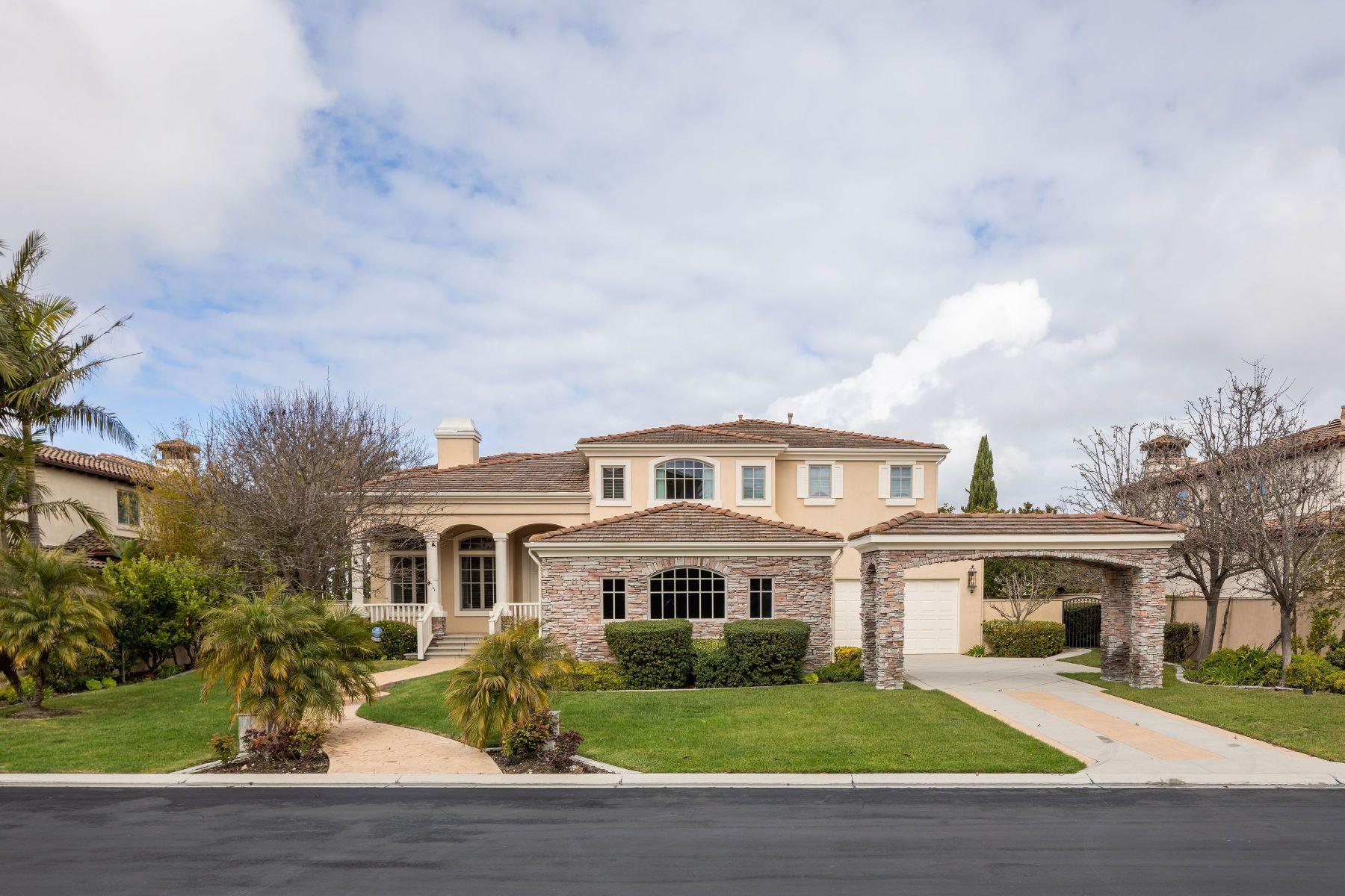 Single Family Homes para Venda às 11 Santa Rosa, Rolling Hills Estates, CA 90274 Rolling Hills Estates, Califórnia 90274 Estados Unidos