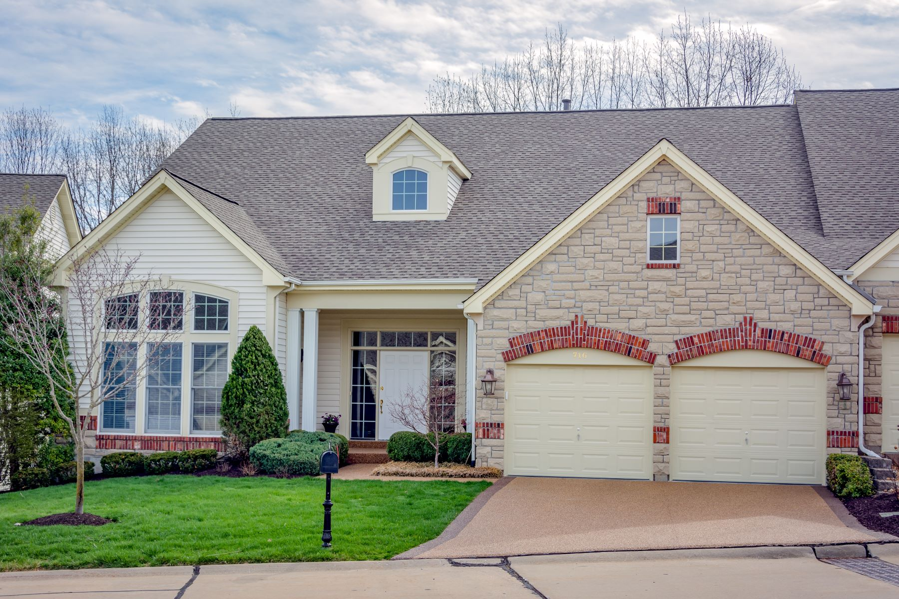 Condominium for Sale at 716 Stonebluff Court, Chesterfield, MO 63005 716 Stonebluff Court Chesterfield, Missouri 63005 United States