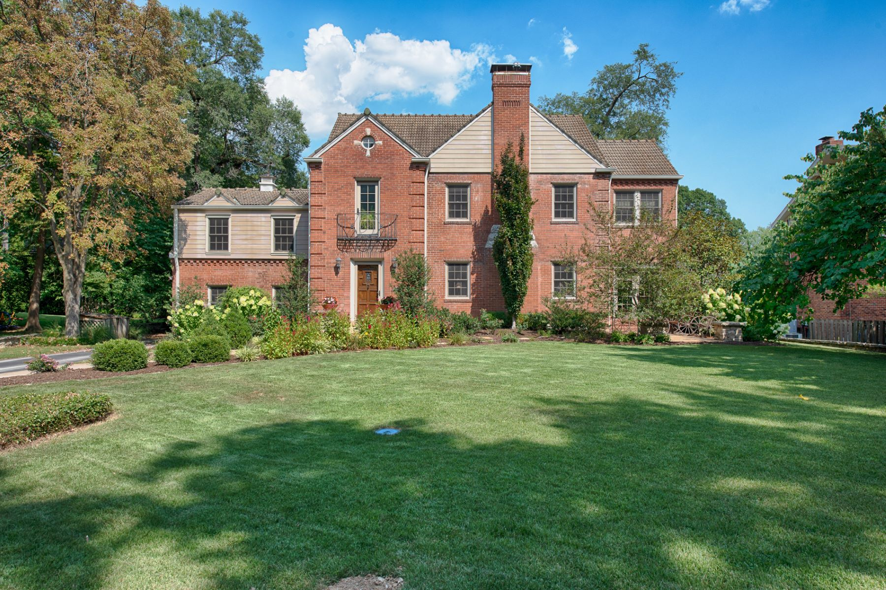Single Family Home for Sale at Charming Spanish Tudor 12 Granada Way Ladue, Missouri 63124 United States