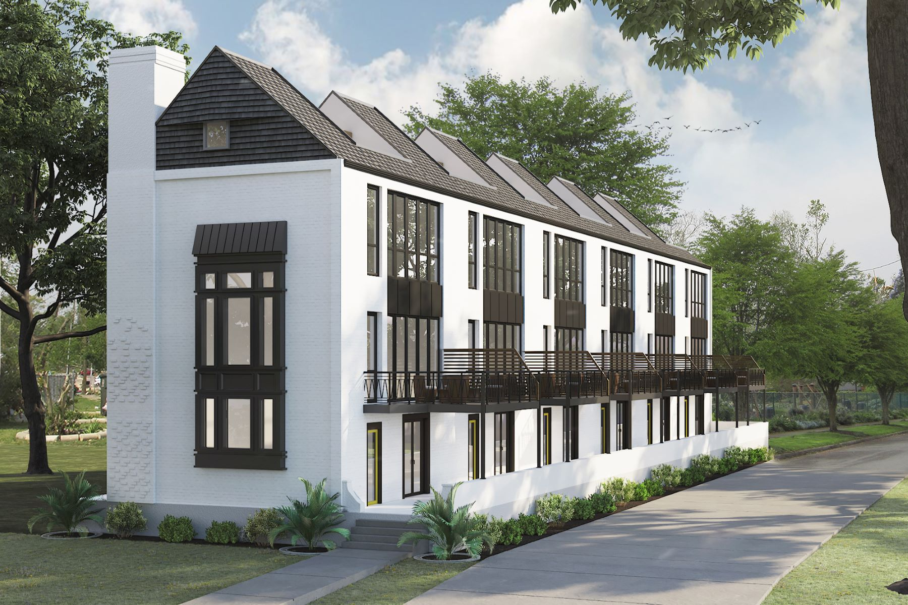 townhouses for Sale at West Village Townhomes - 102 Bedford 4201 West Pine Boulevard 102 - Bedford St. Louis, Missouri 63108 United States