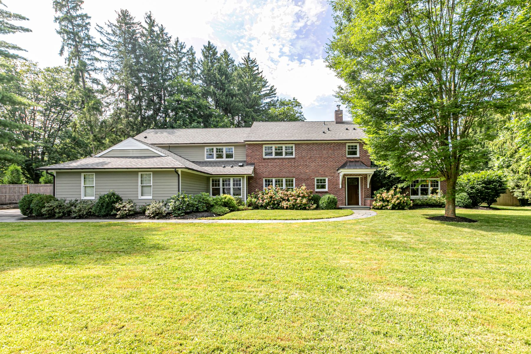 Single Family Homes for Sale at Handsomely Updated With Lots of High-End Comforts 268 Edgerstoune Road, Princeton, New Jersey 08540 United States