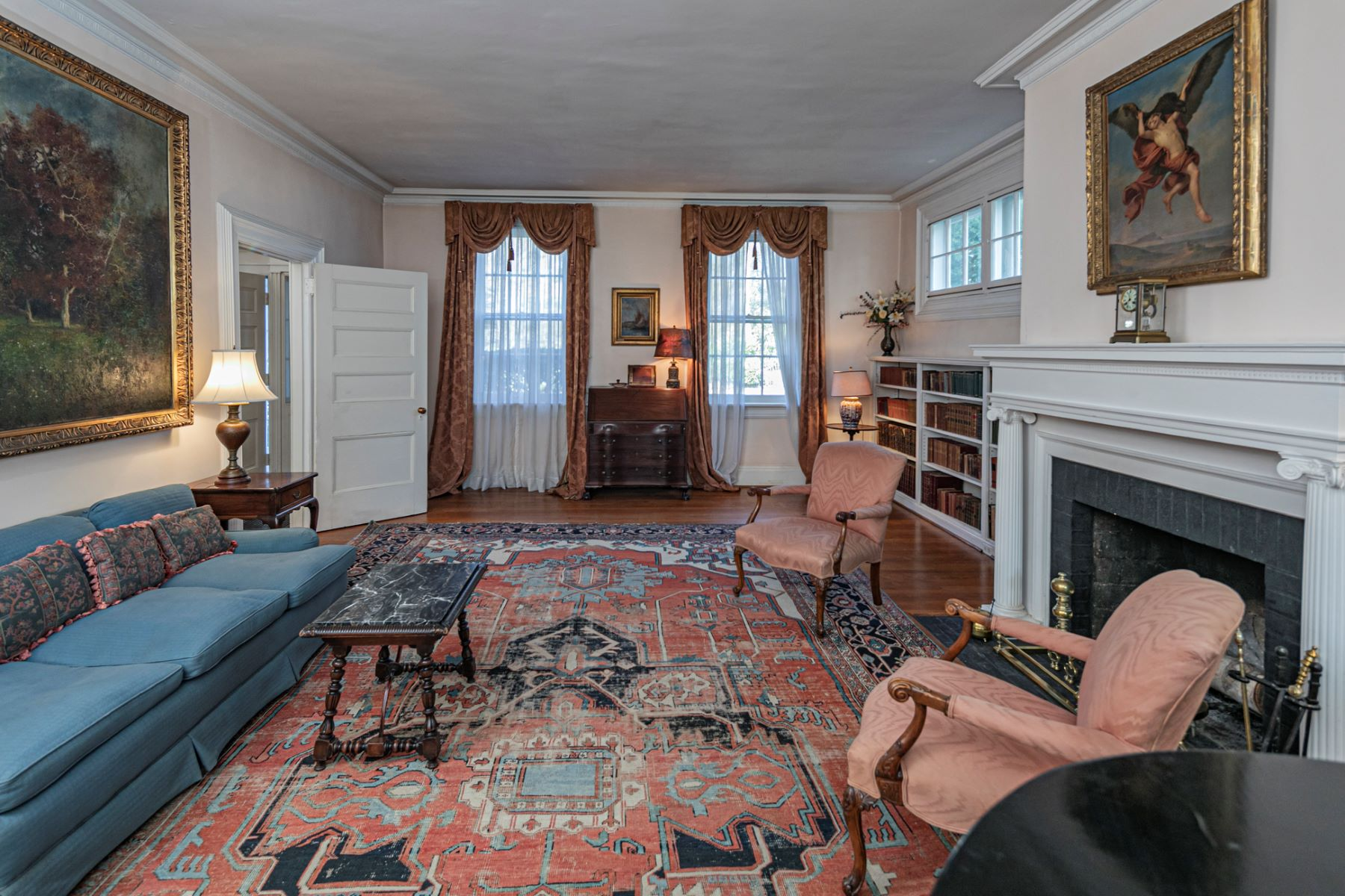 Additional photo for property listing at Glorious Greek Revival by Charles Steadman 86 Stockton Street, Princeton, New Jersey 08540 United States