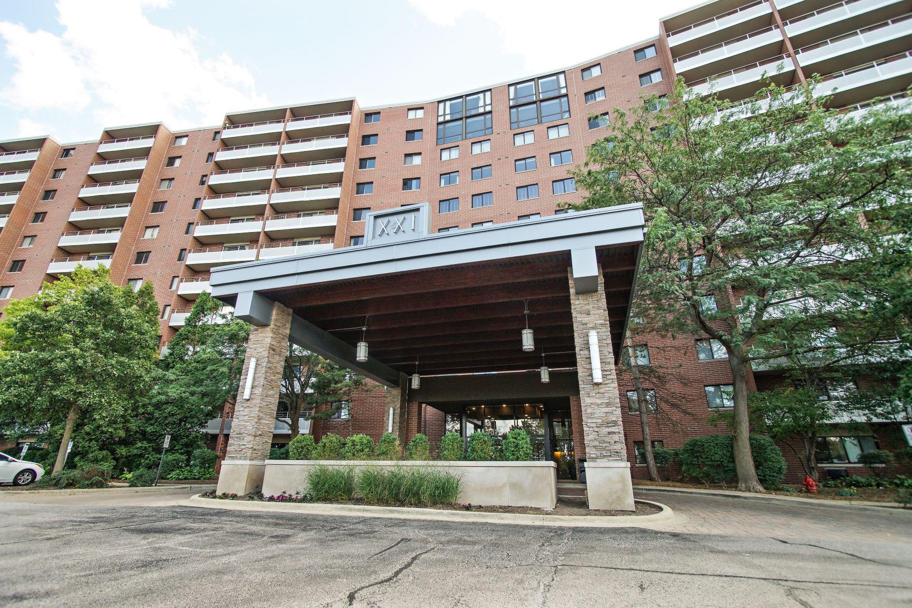Condominiums por un Venta en Beautiful Updated Condo 21 Kristin Drive Unit 408 Schaumburg, Illinois 60195 Estados Unidos