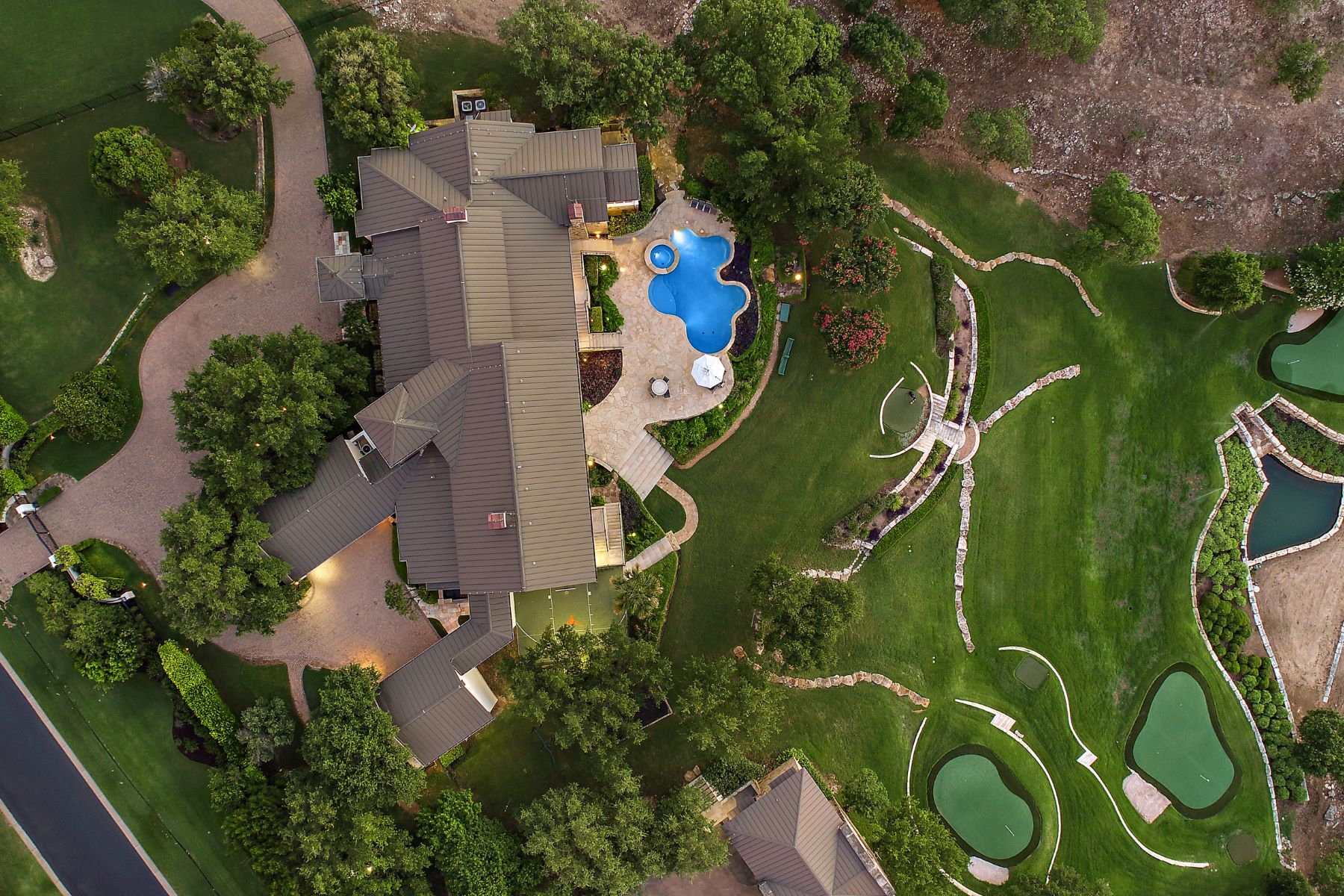 Single Family Homes for Sale at Eagle Ridge Private Resort 7849 Escala Drive Austin, Texas 78735 United States