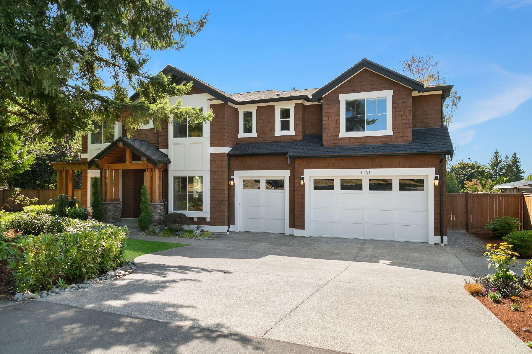 Single Family Homes for Sale at 4161 86th Avenue Southeast, Mercer Island, WA 98040 4161 86th Avenue Southeast Mercer Island, Washington 98040 United States