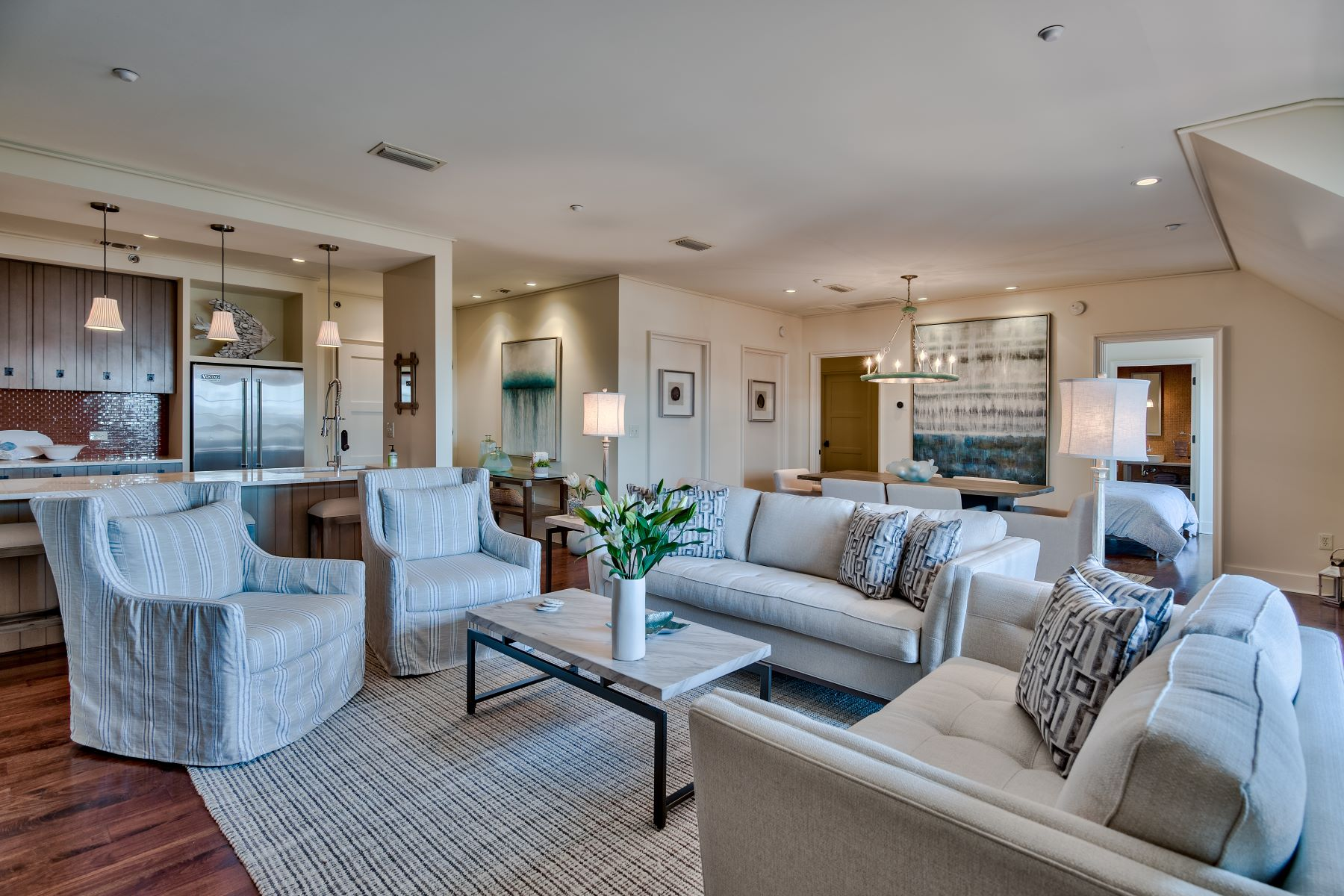 Condominiums for Sale at Charming Condo in the Heart of Rosemary Beach 78 North Barrett Square 11 Rosemary Beach, Florida 32461 United States