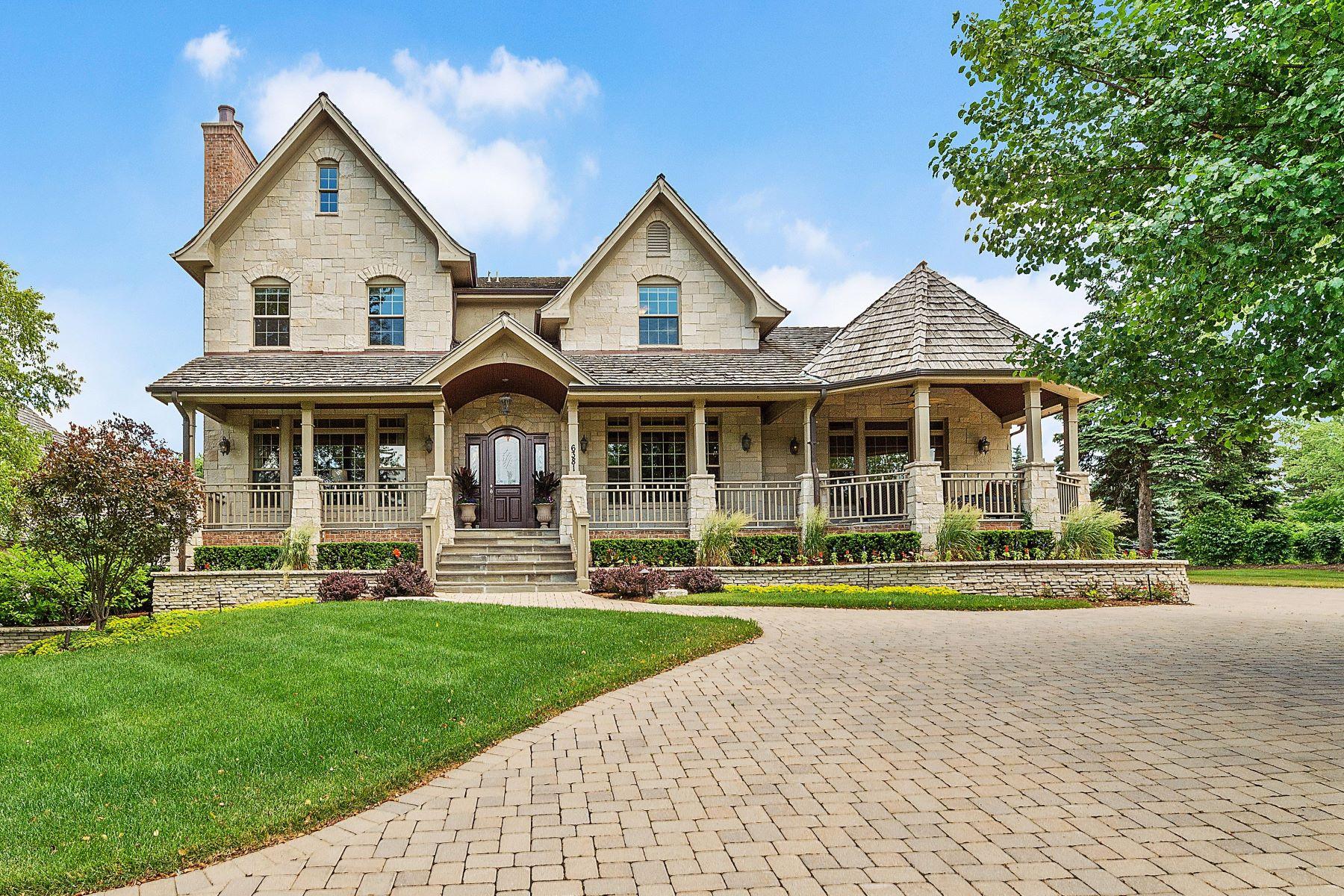 Property για την Πώληση στο Stunning Stone Estate 6381 S Garfield Avenue, Burr Ridge, Ιλινοϊσ 60527 Ηνωμένες Πολιτείες