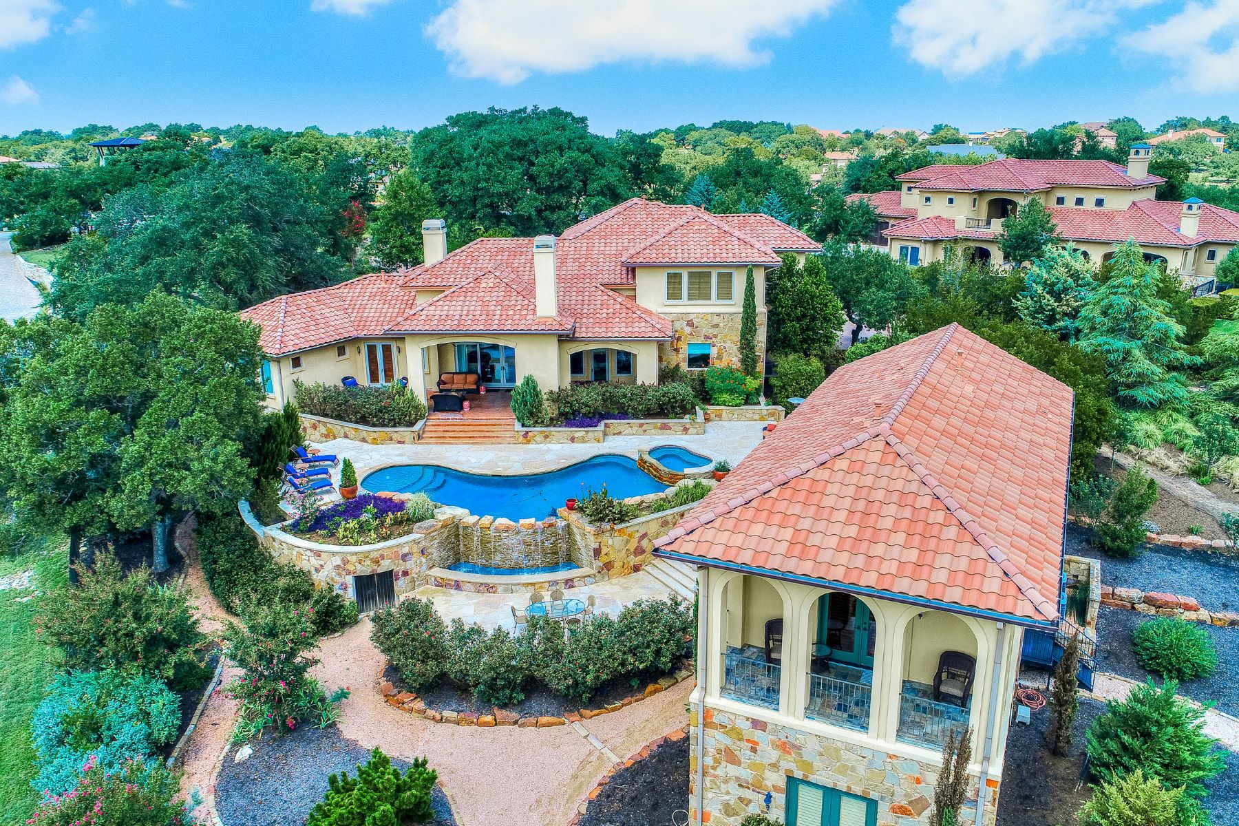 Single Family Home for Sale at Exquisite Tuscan Estate 8017 Magnolia Ridge Cv Austin, Texas 78738 United States