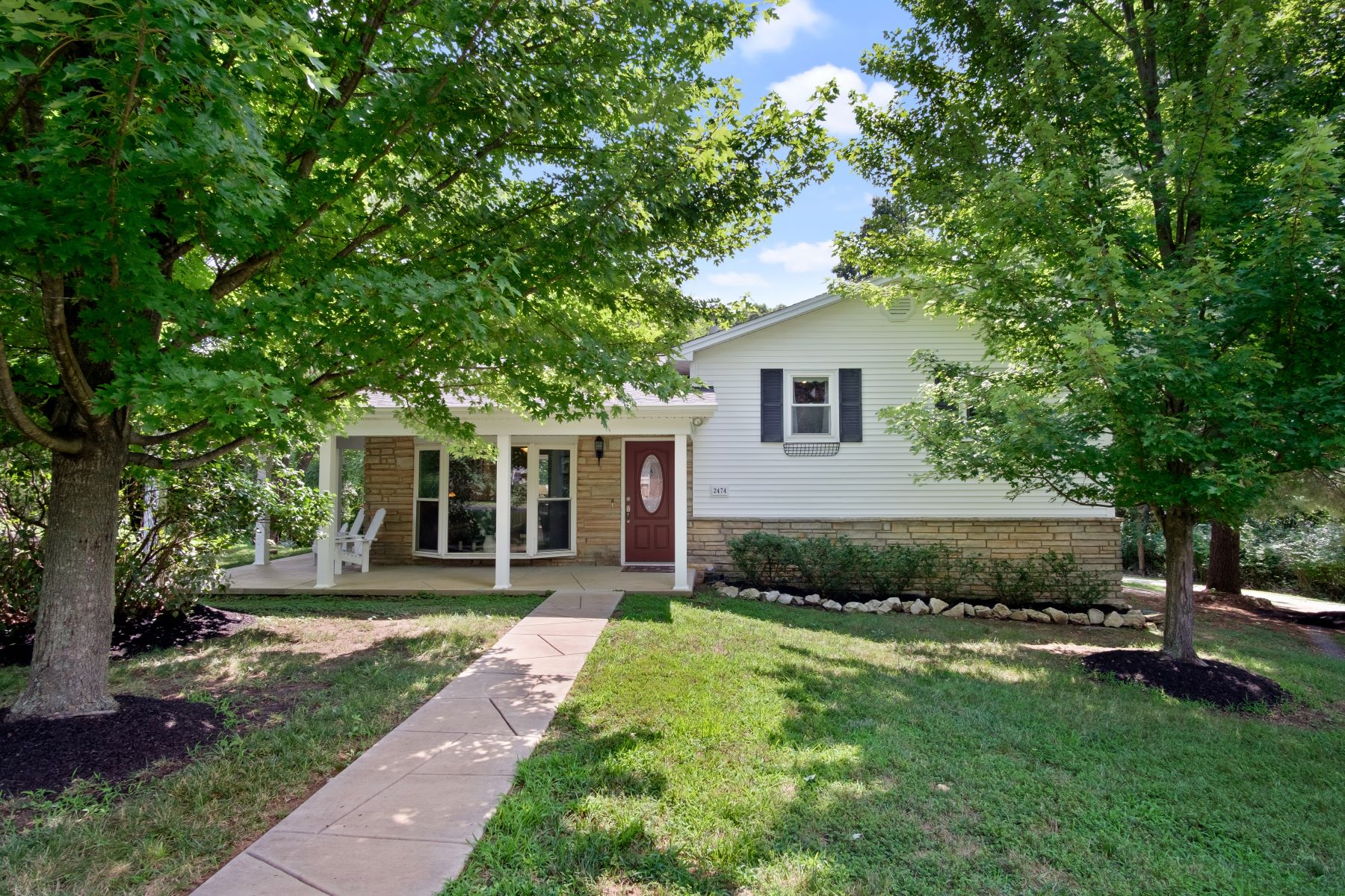 Single Family Homes for Sale at Lovely Renovated Home In High Ridge 2474 Crestview Drive High Ridge, Missouri 63049 United States