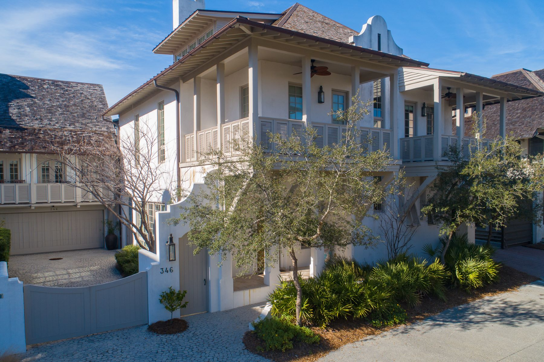 Single Family Homes 为 销售 在 Architecturally Inspiring Home in Rosemary Beach Steps from the Gulf Waters 346 West Water Street Rosemary Beach, 佛罗里达州 32461 美国