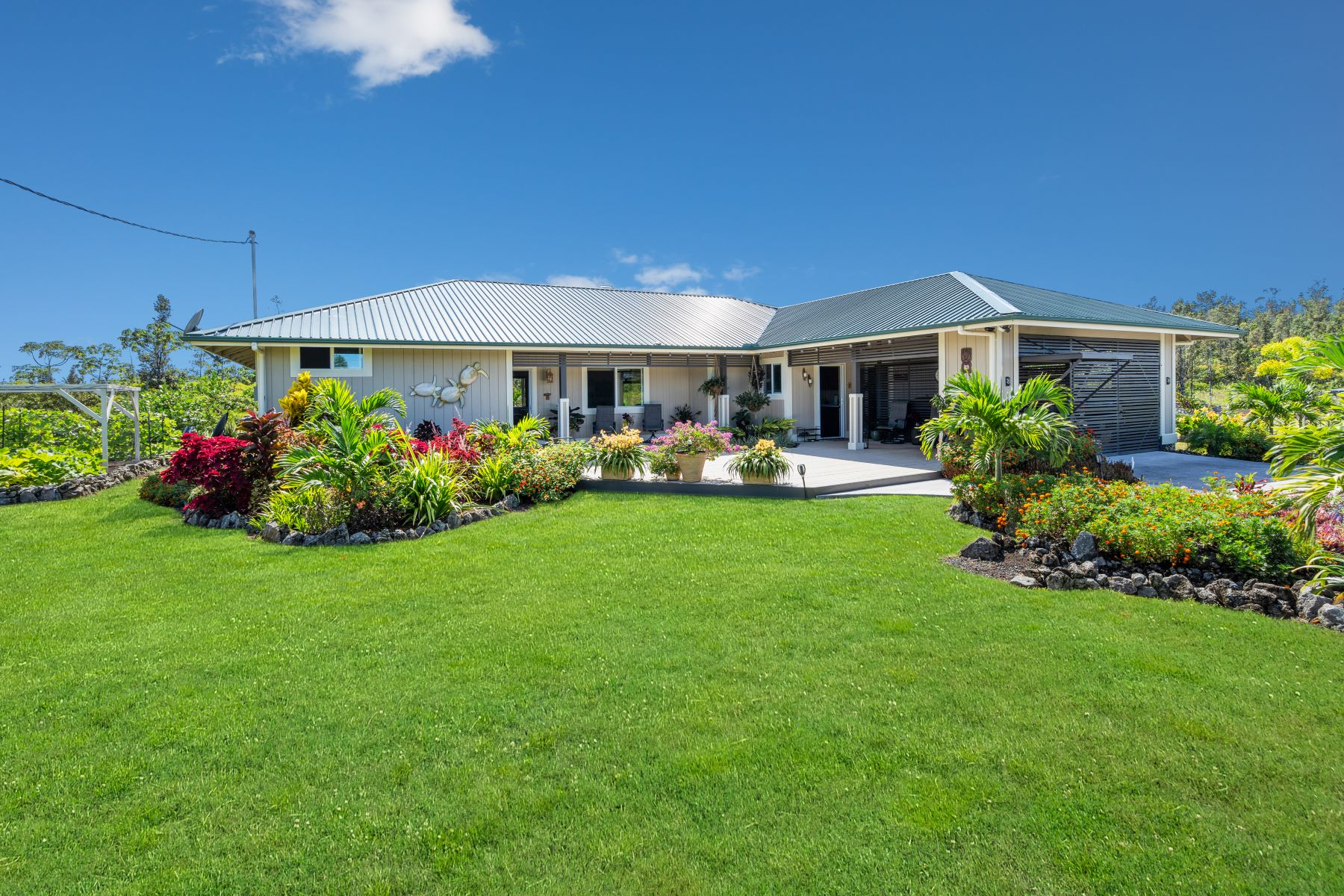 Single Family Homes för Försäljning vid 15-1574 7th Avenue, Keaau, HI 96749 Keaau, Hawaii 96749 Förenta staterna