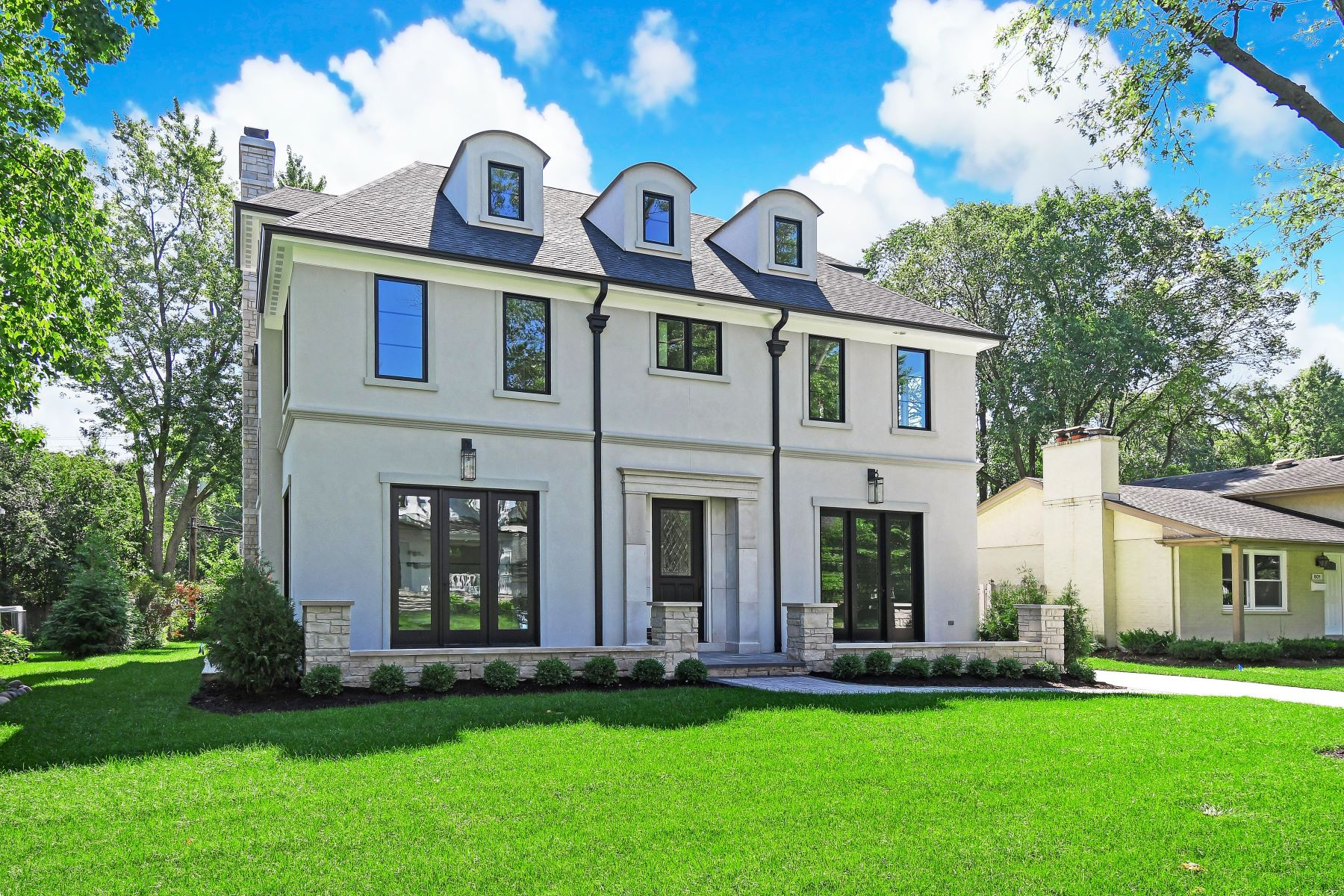 Single Family Homes for Active at Brand New Construction 603 Jefferson St Hinsdale, Illinois 60521 United States