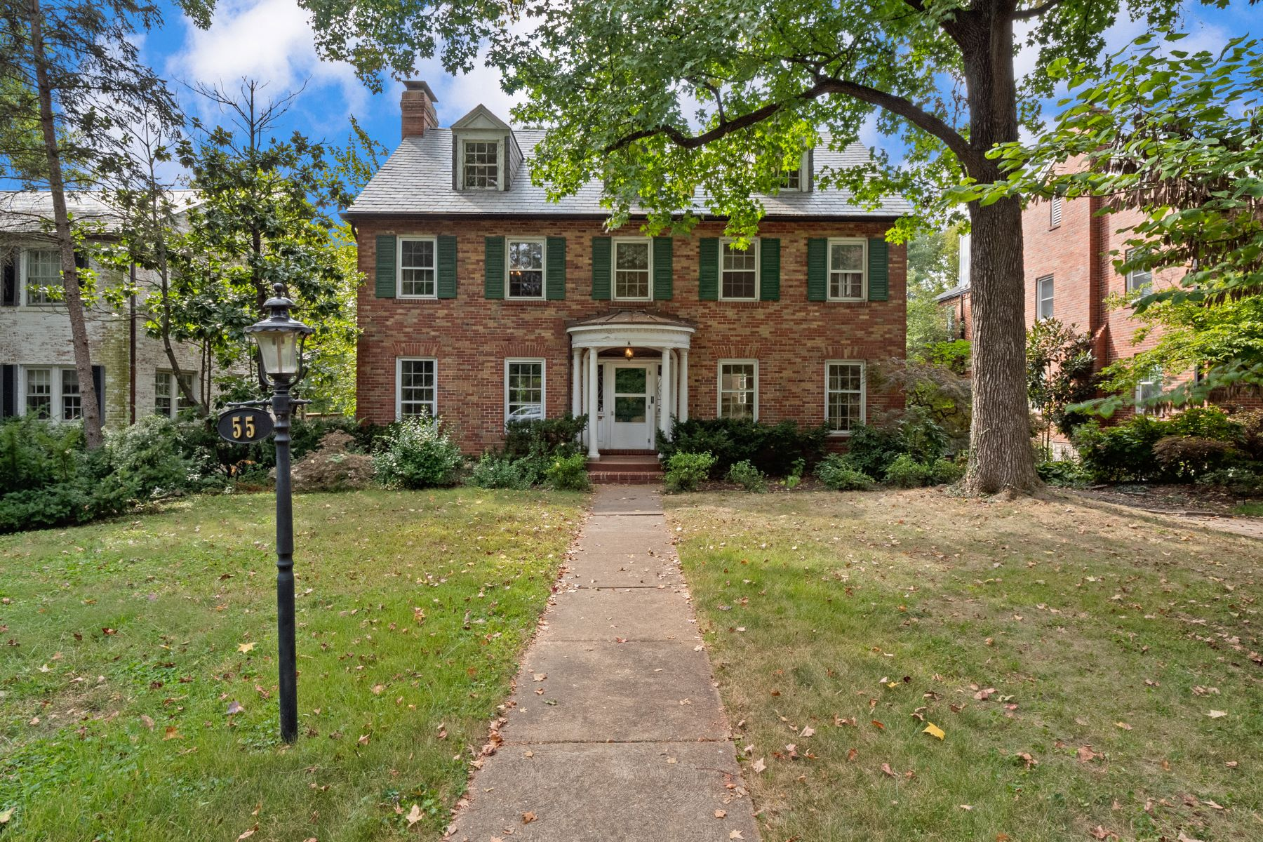 Single Family Homes for Sale at Where Love Prevails and Charm Abounds 55 Ridgemoor Drive Clayton, Missouri 63105 United States