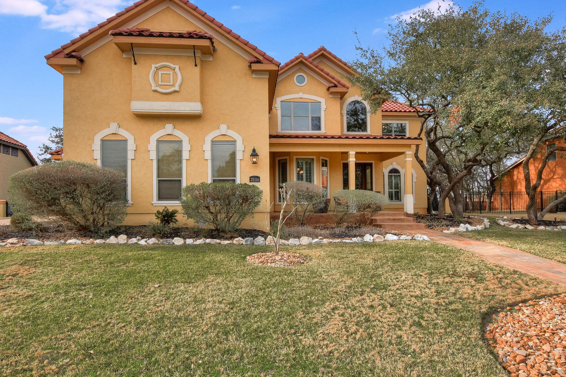 Single Family Home for Sale at Spacious Estate in Canyon Springs 25114 Fairway Springs San Antonio, Texas 78260 United States