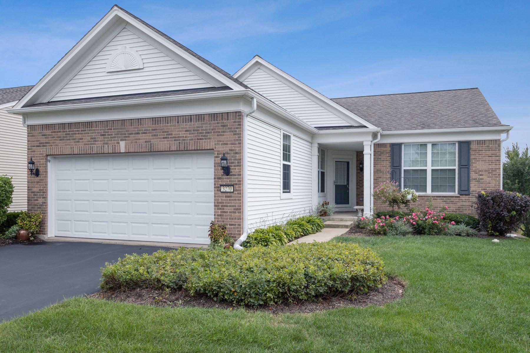 Single Family Homes para Venda às Grand Dominion Community 3270 Rockwell Circle, Mundelein, Illinois 60060 Estados Unidos
