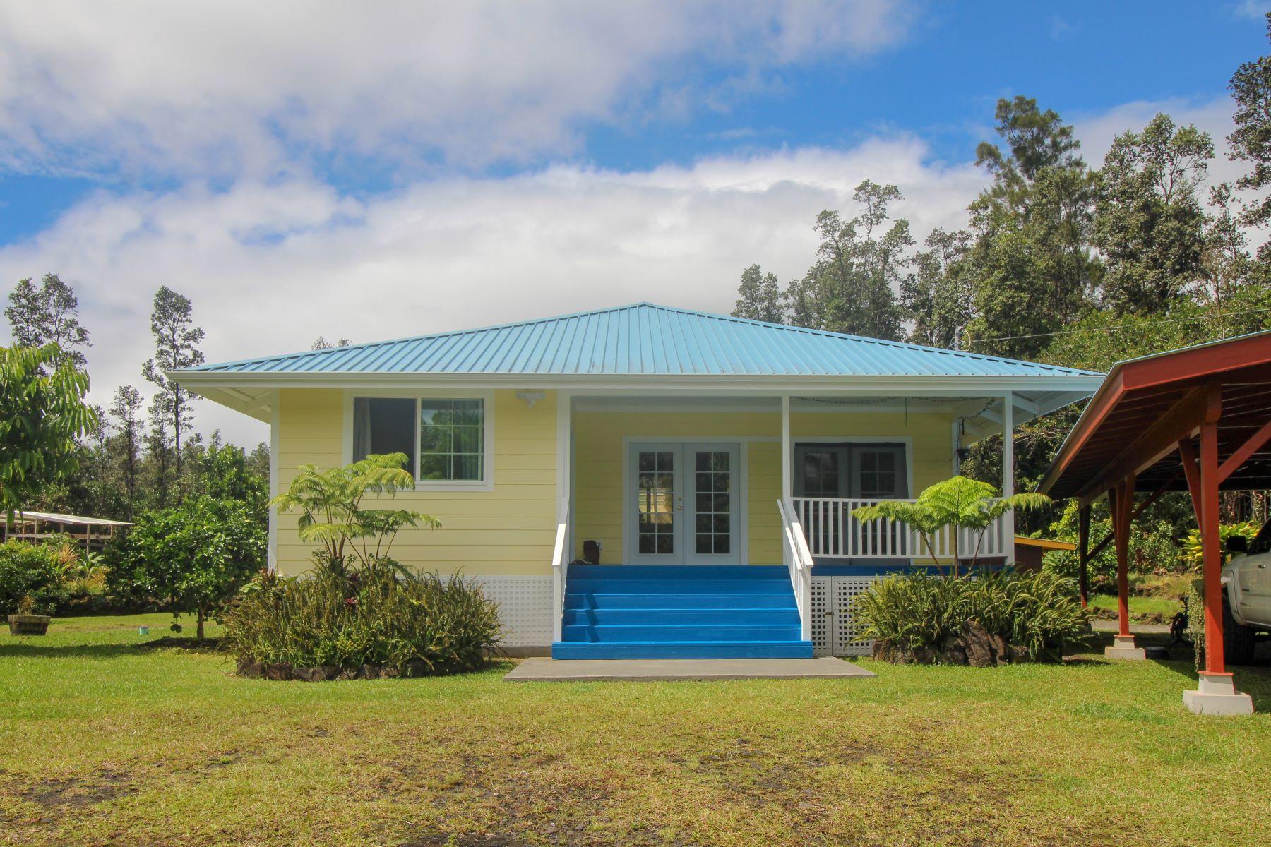 Single Family Homes för Försäljning vid 16-1256 Uhini Ana Road, Mountain View, HI 96771 Mountain View, Hawaii 96771 Förenta staterna