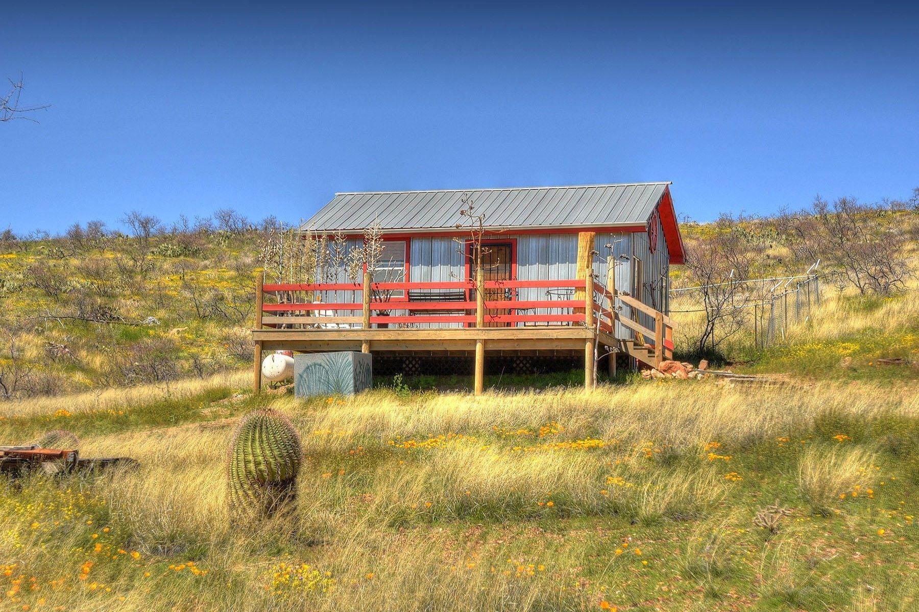 Single Family Homes για την Πώληση στο Chiricahua Trail Ranches 5727 S BUTTERFIELD RD, Willcox, Αριζονα 85643 Ηνωμένες Πολιτείες