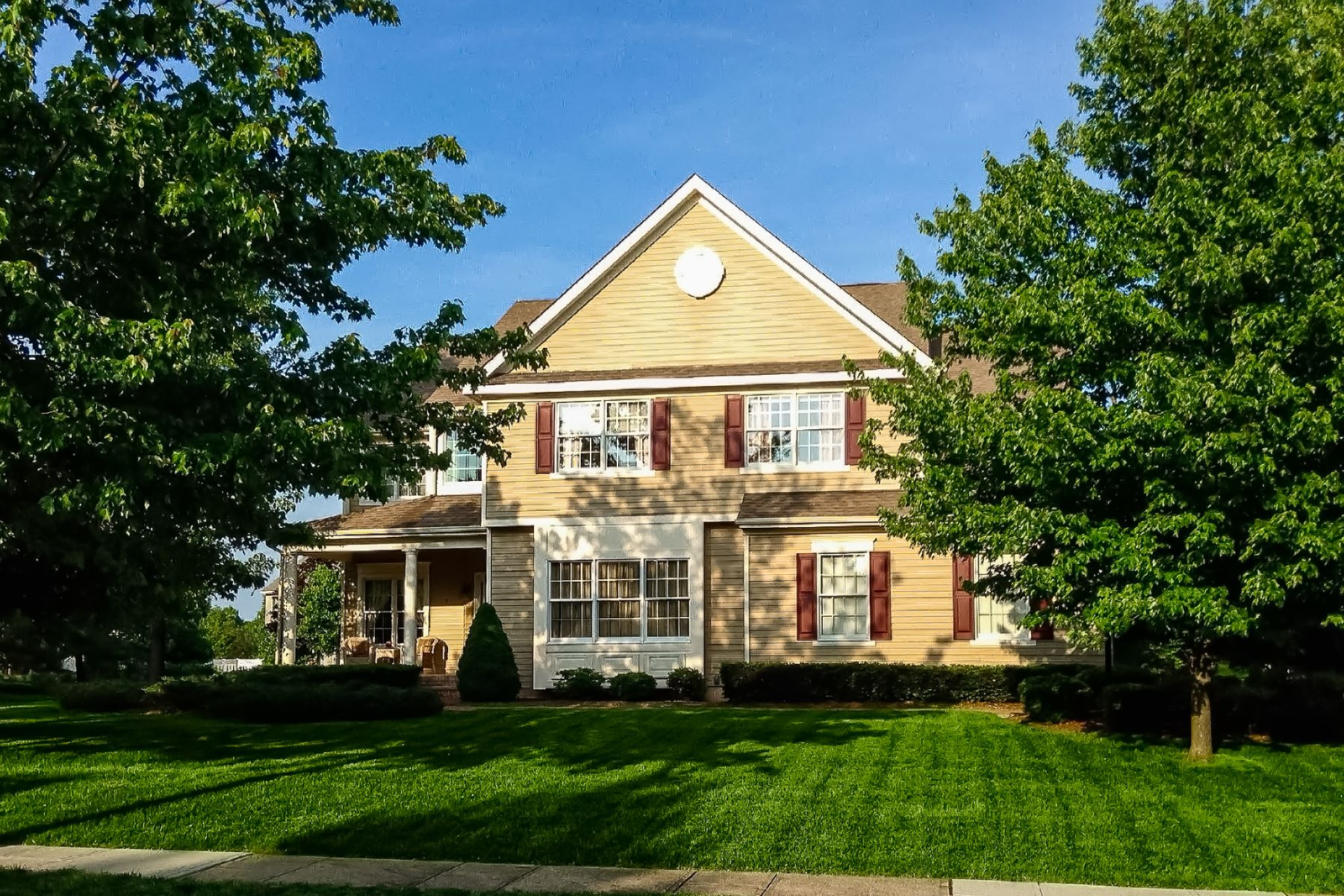 Single Family Homes for Sale at Live Every Single Day in Relaxed Luxury! 3 Arrowhead Court Skillman, New Jersey 08558 United States