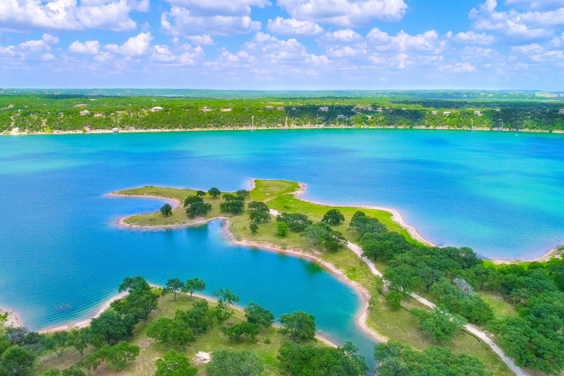 토지 용 매매 에 The Reserve on Lake Travis: 18 Waterfront Acres 2200/08 Cypress Club Pointe, Spicewood, 텍사스, 78669 미국