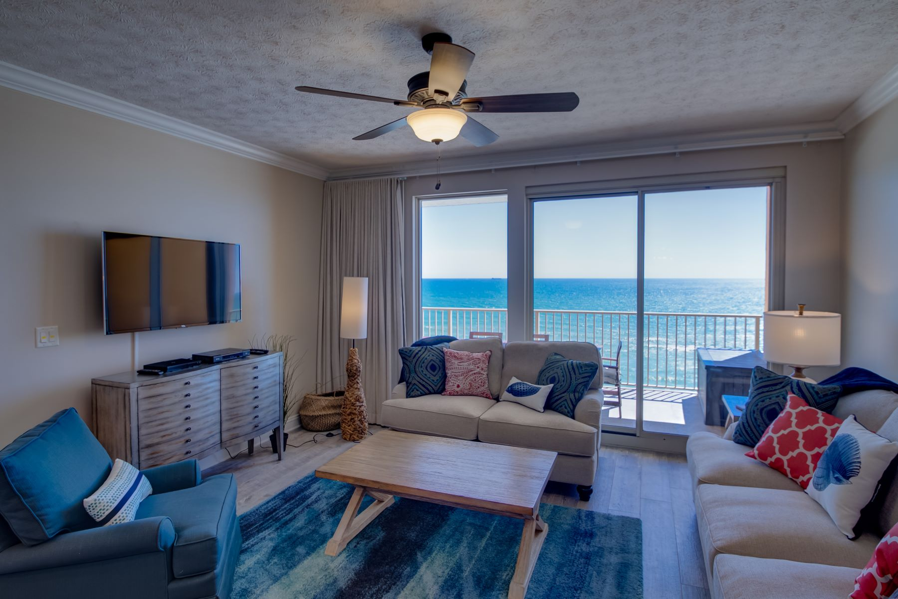 Condominiums for Sale at Renovated Gulf-front Condo Conveys Fully Furnished 5004 Thomas Drive 1108, Panama City Beach, Florida 32408 United States