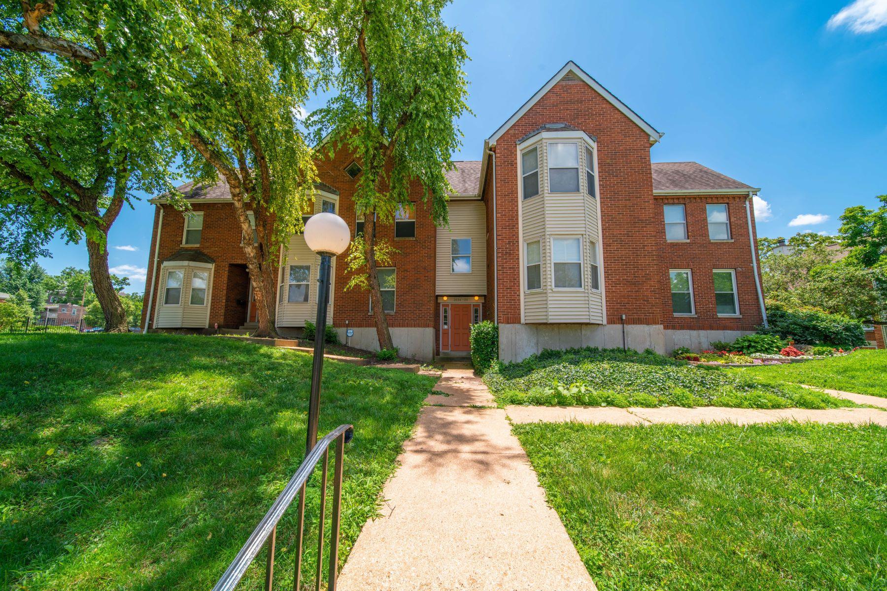 Condominiums for Sale at Central East Condo Close to SLU 2606 Park Avenue C2 St. Louis, Missouri 63104 United States